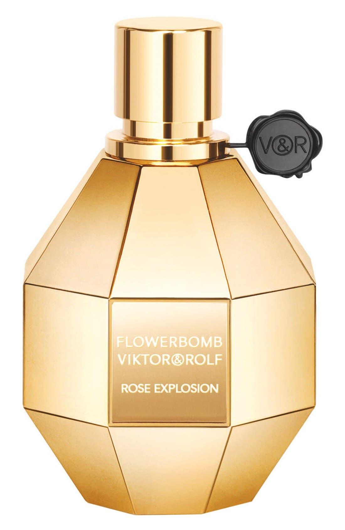 'Flowerbomb Rose Explosion' Eau de Parfum,                             Main thumbnail 1, color,                             000