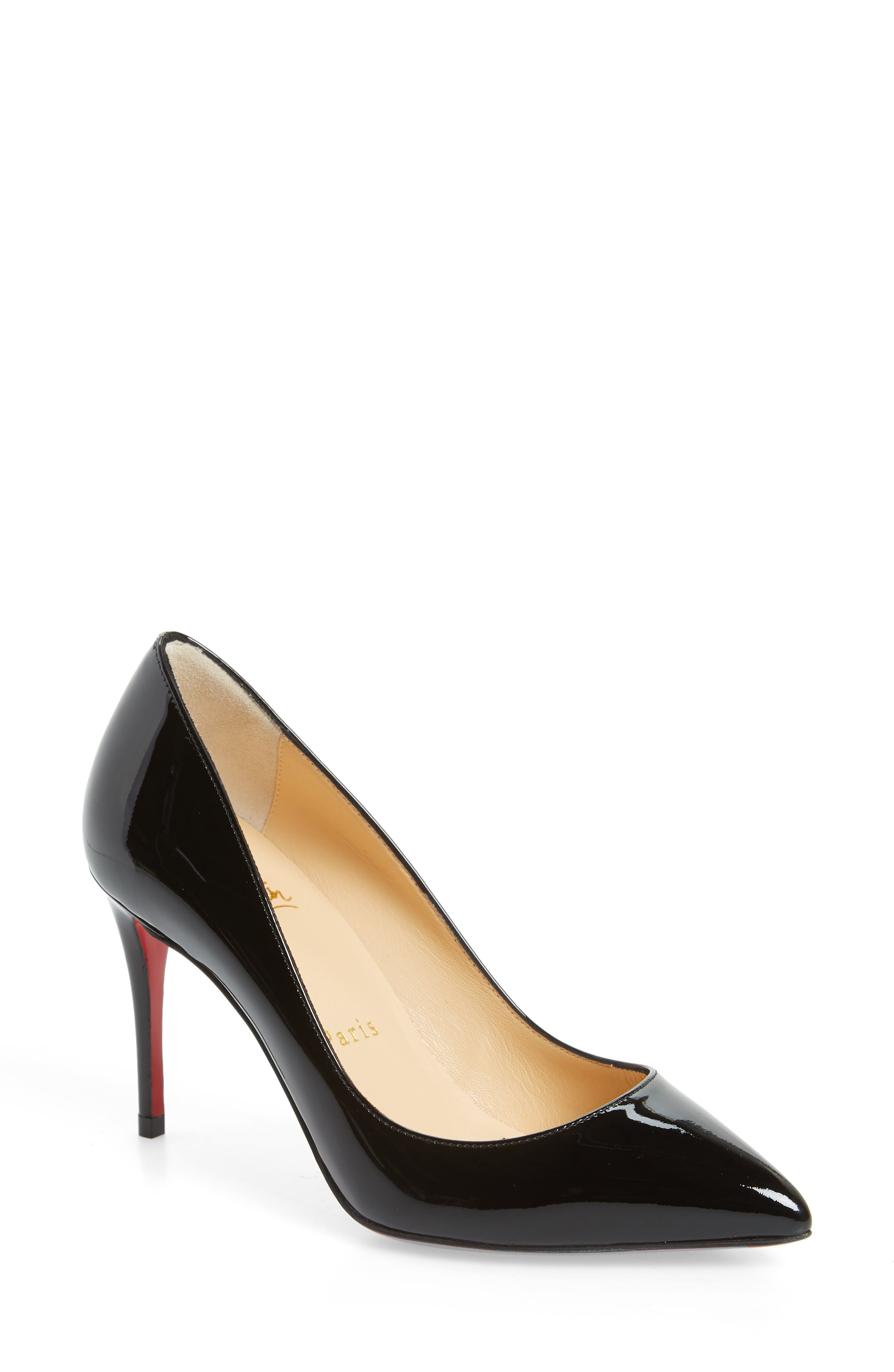 Pigalle Follies Pointy Toe Pump,                         Main,                         color, BLACK