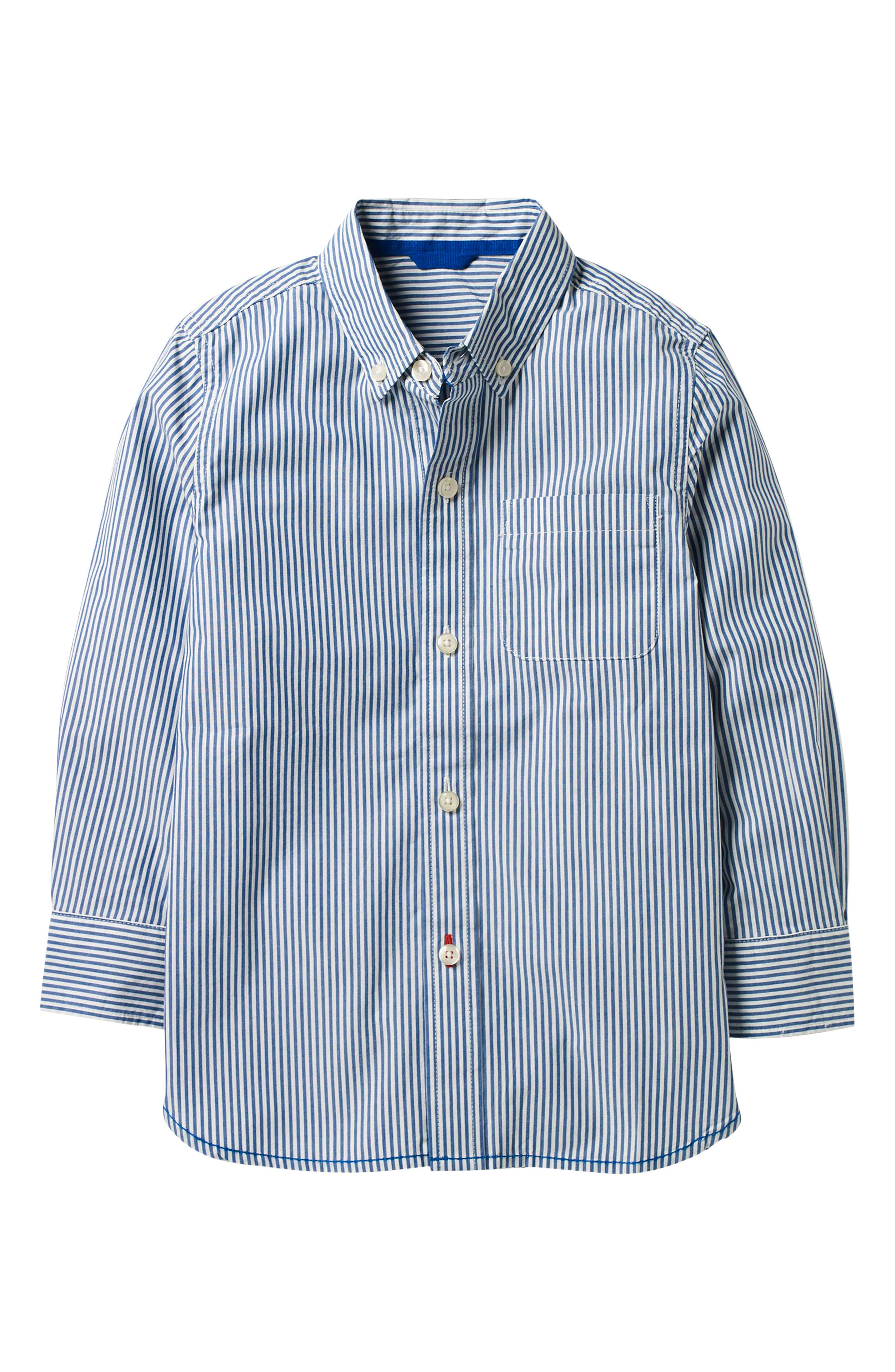 Laundered Stripe Woven Shirt,                         Main,                         color, 454