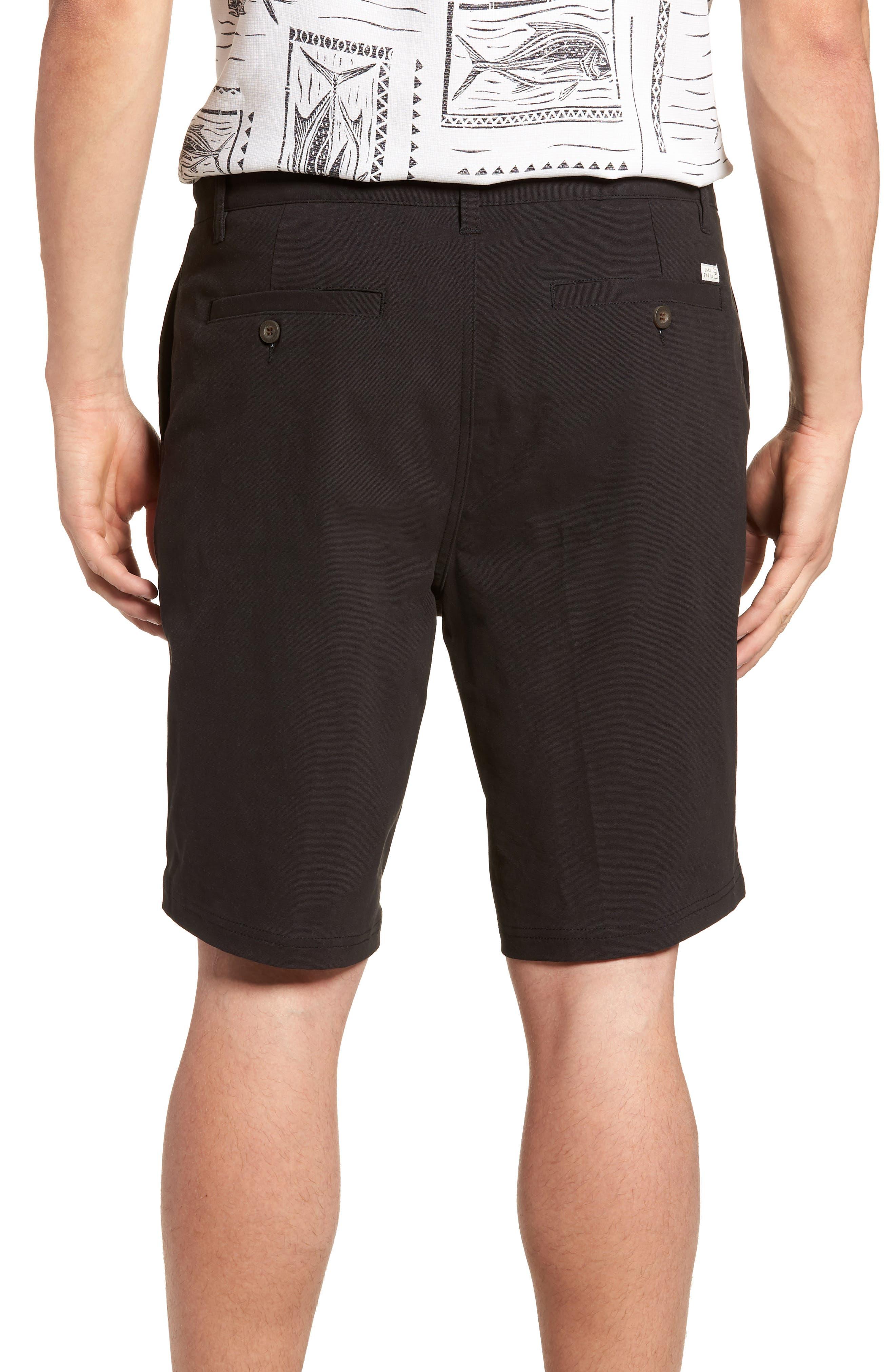 Port Shorts,                             Alternate thumbnail 2, color,                             BLACK