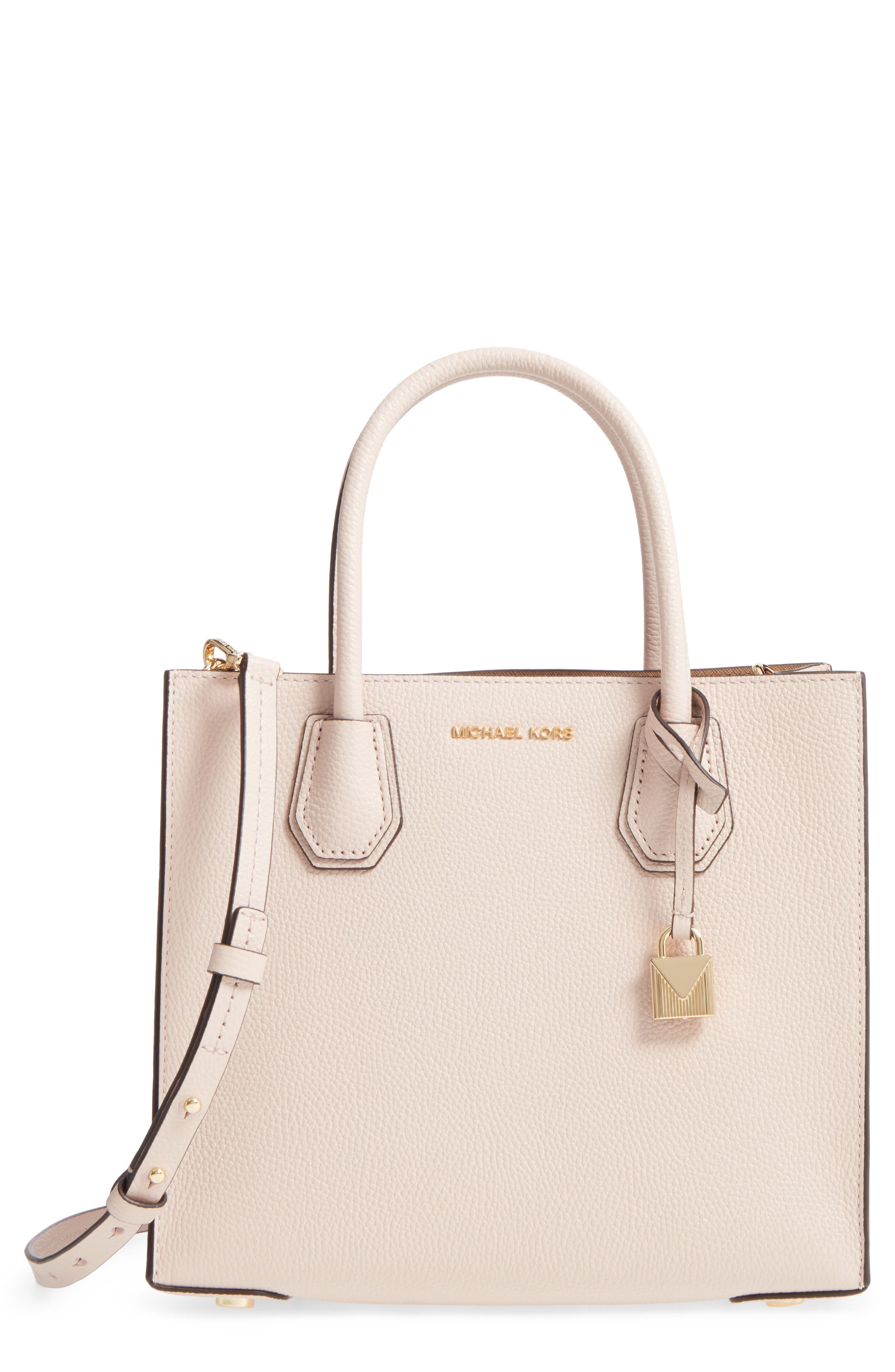 'Medium Mercer' Leather Tote,                             Main thumbnail 3, color,