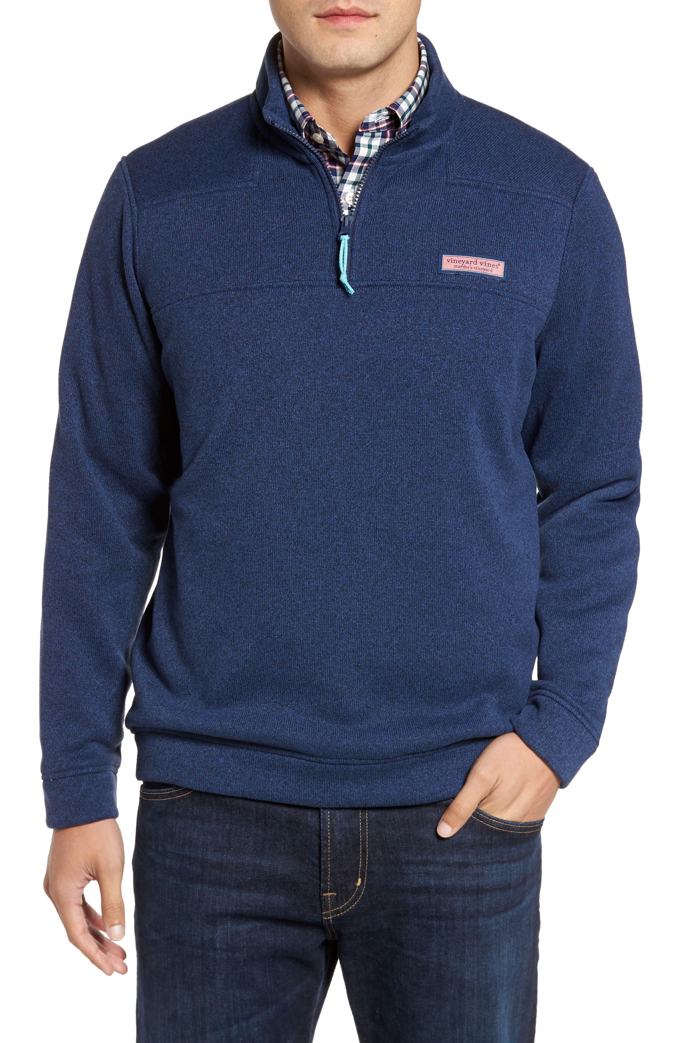 Shep Sweater Fleece Quarter Zip Pullover,                             Main thumbnail 2, color,