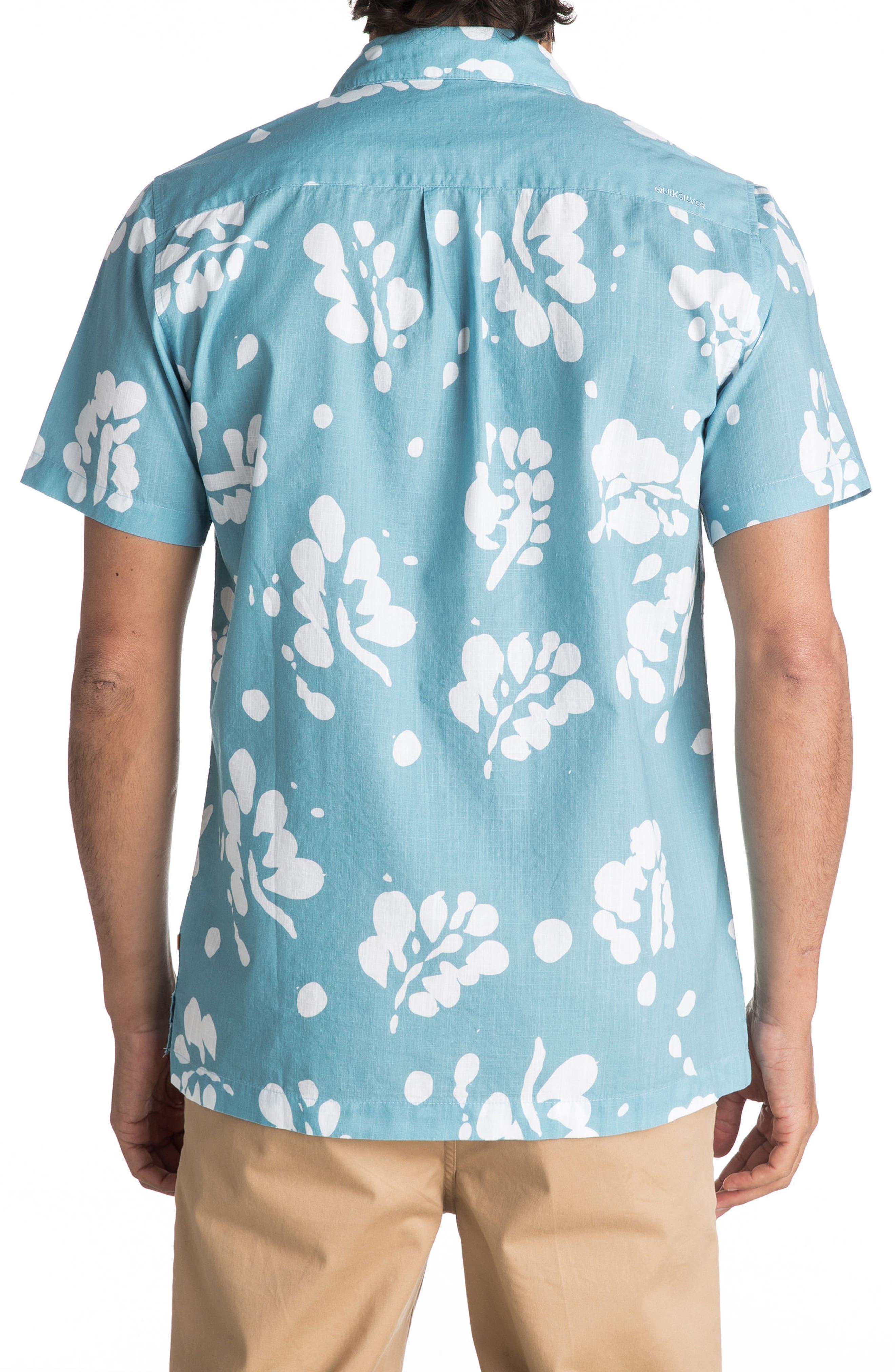 Los Palmas Woven Shirt,                             Alternate thumbnail 4, color,