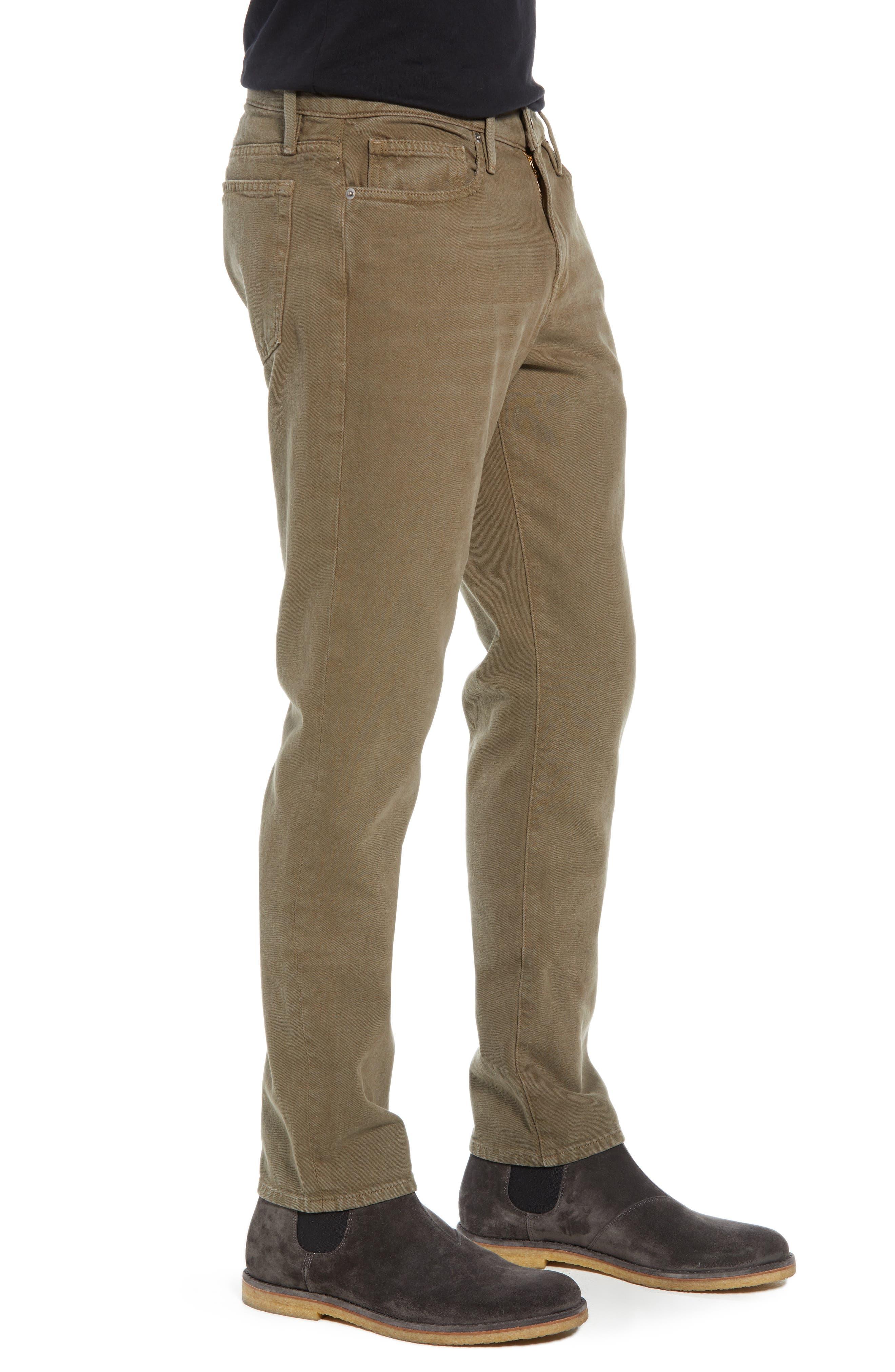 L'Homme Slim Fit Jeans,                             Alternate thumbnail 3, color,                             CORIANDER