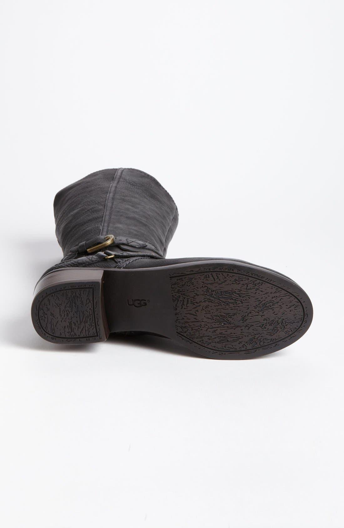 Australia 'Esplanade' Harness Boot,                             Alternate thumbnail 3, color,                             001