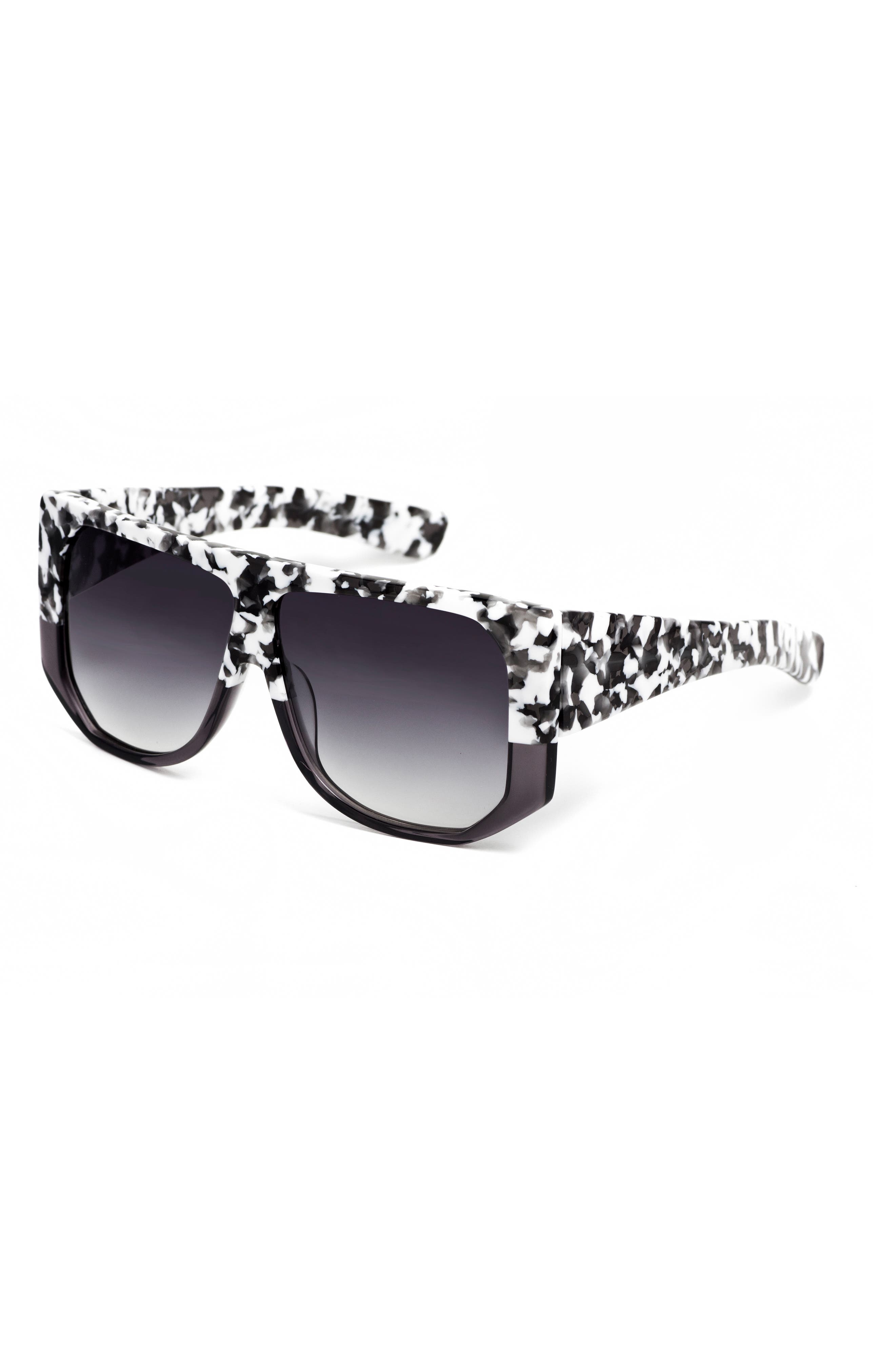 Frequent Flyer 58mm Sunglasses,                             Alternate thumbnail 4, color,                             WHITE CAMO