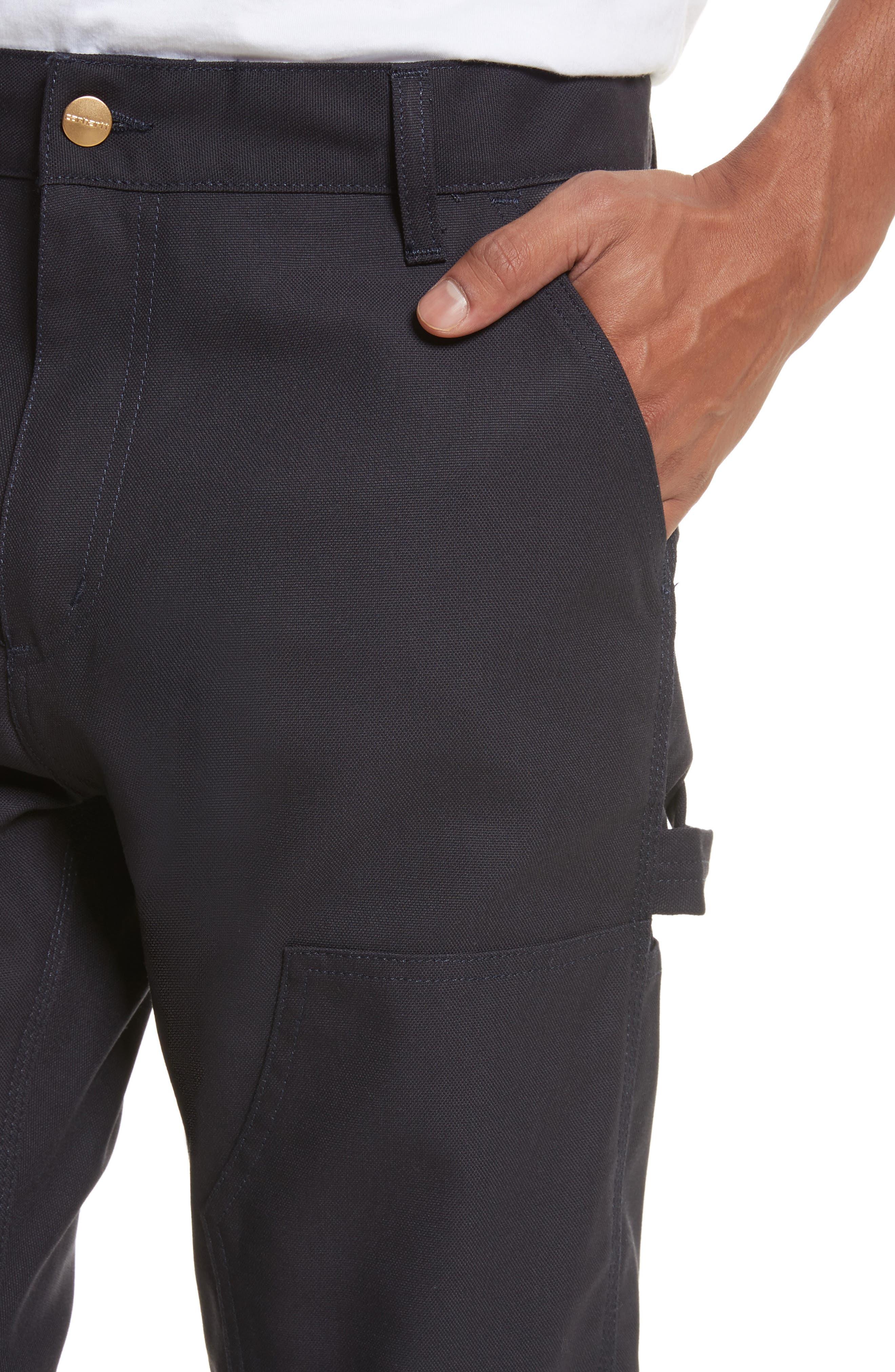 Ruck Double Knee Canvas Pants,                             Alternate thumbnail 4, color,                             410