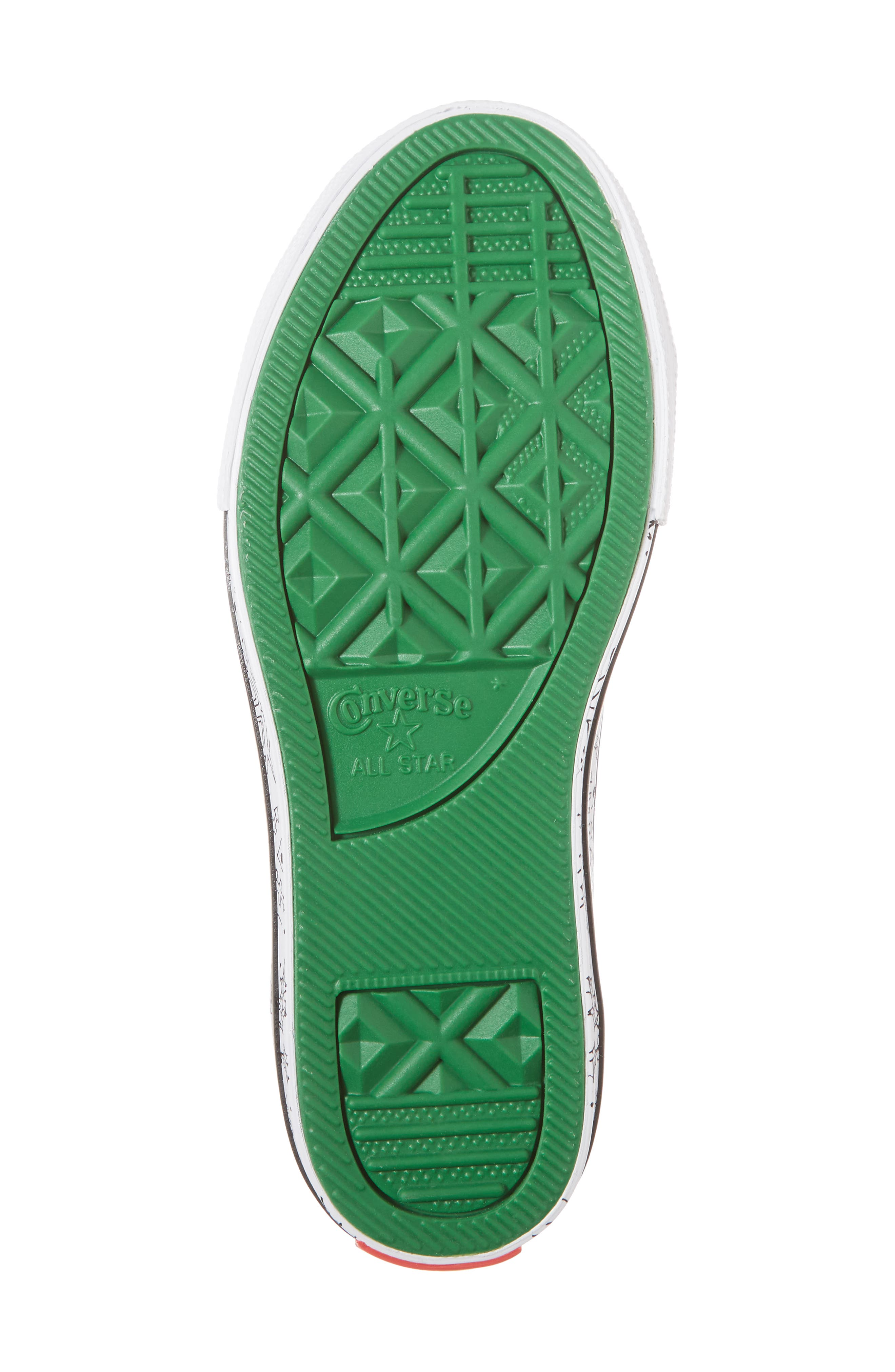 Chuck Taylor<sup>®</sup> All Star<sup>®</sup> Christmas Coloring Book Ox Sneaker,                             Alternate thumbnail 6, color,
