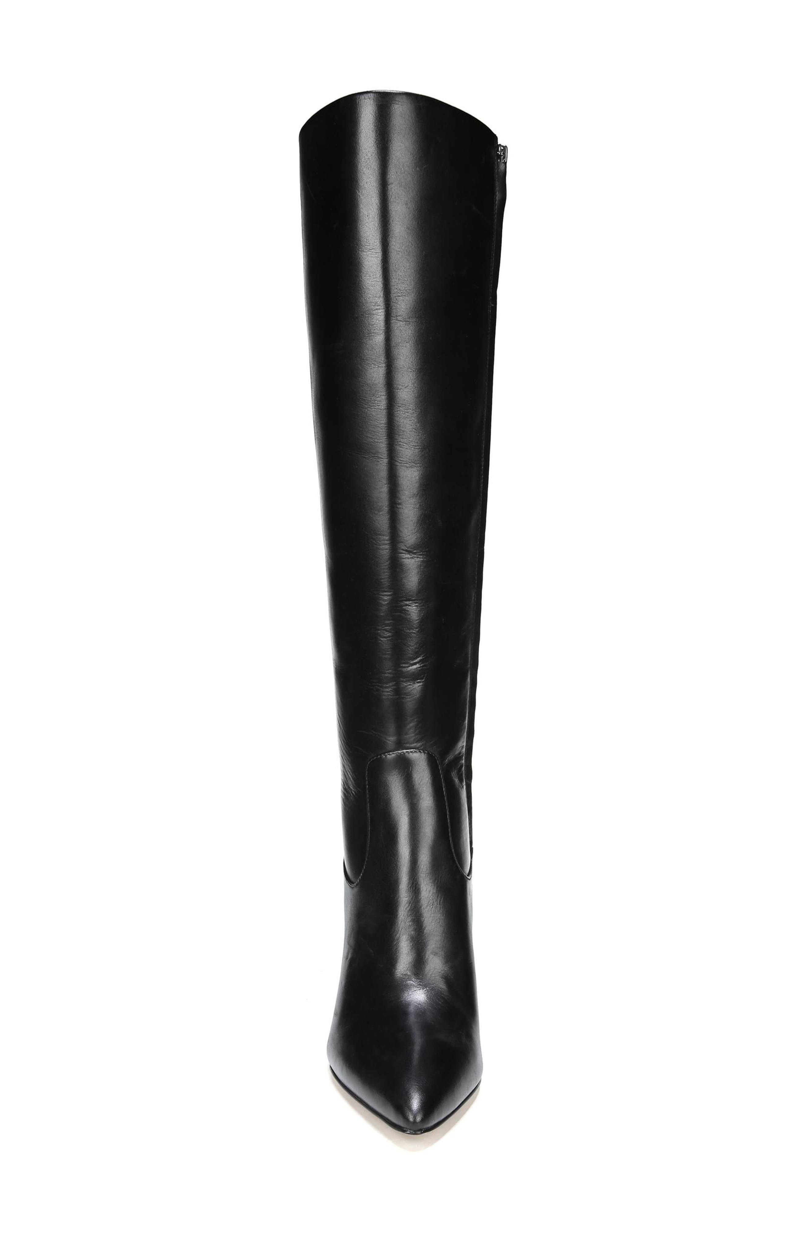 Olencia Knee High Boot,                             Alternate thumbnail 4, color,                             001