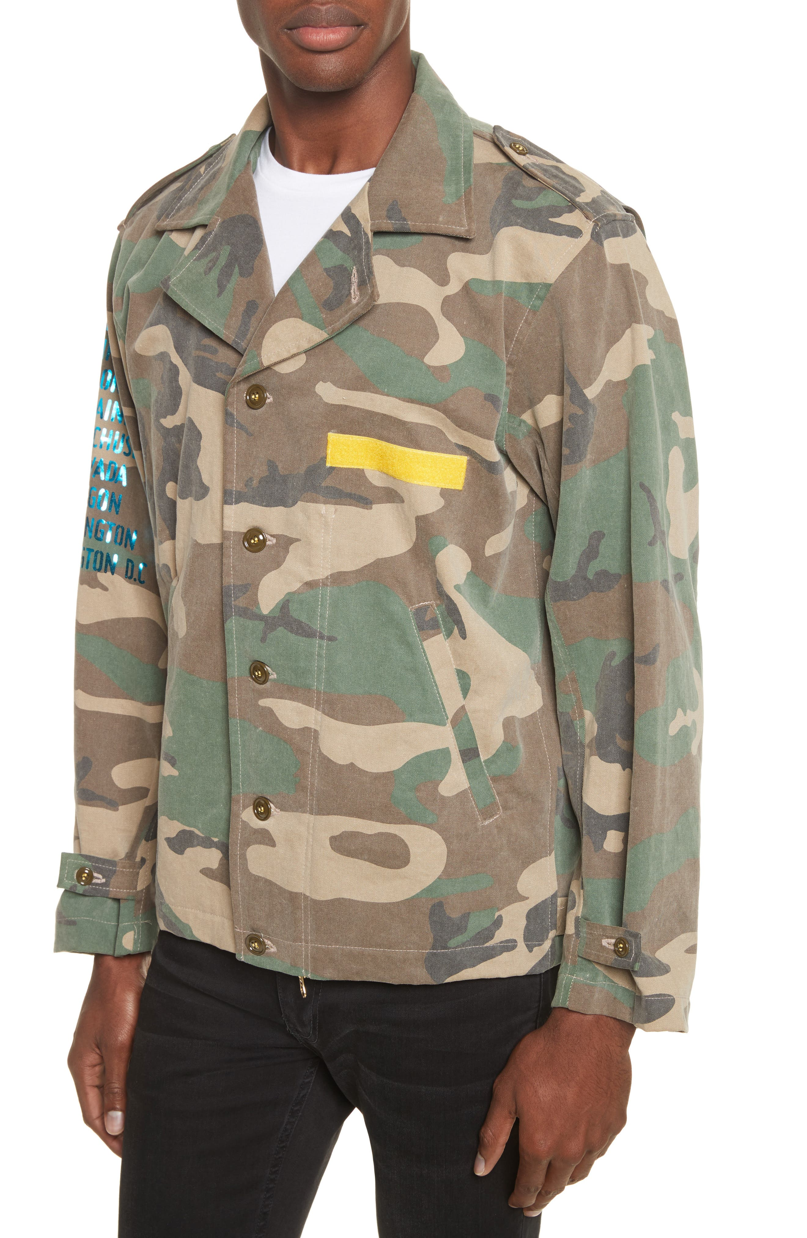 Shango Camo Jacket,                             Alternate thumbnail 4, color,