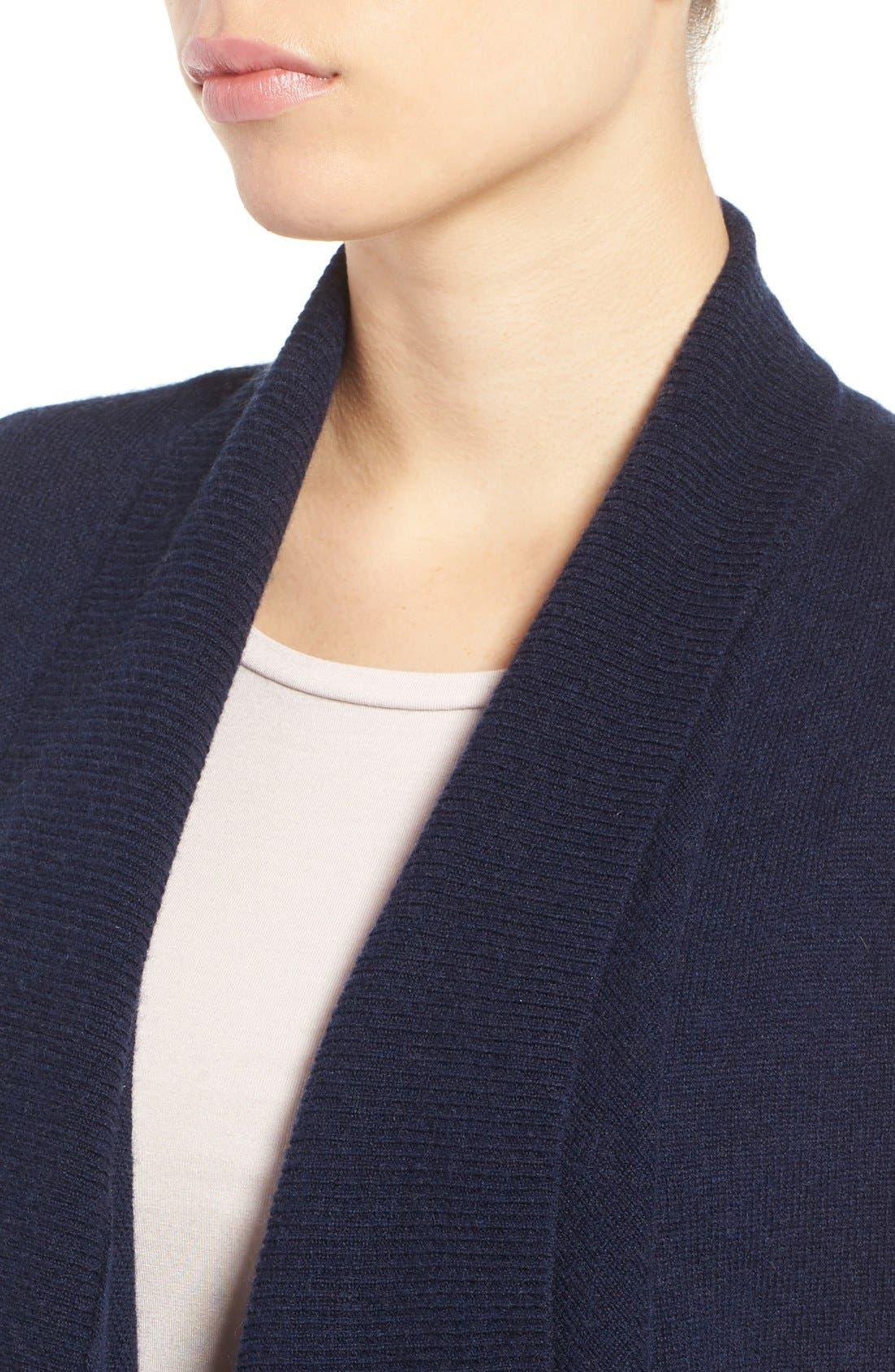 Wool & Cashmere Drape Front Sweater Vest,                             Alternate thumbnail 31, color,