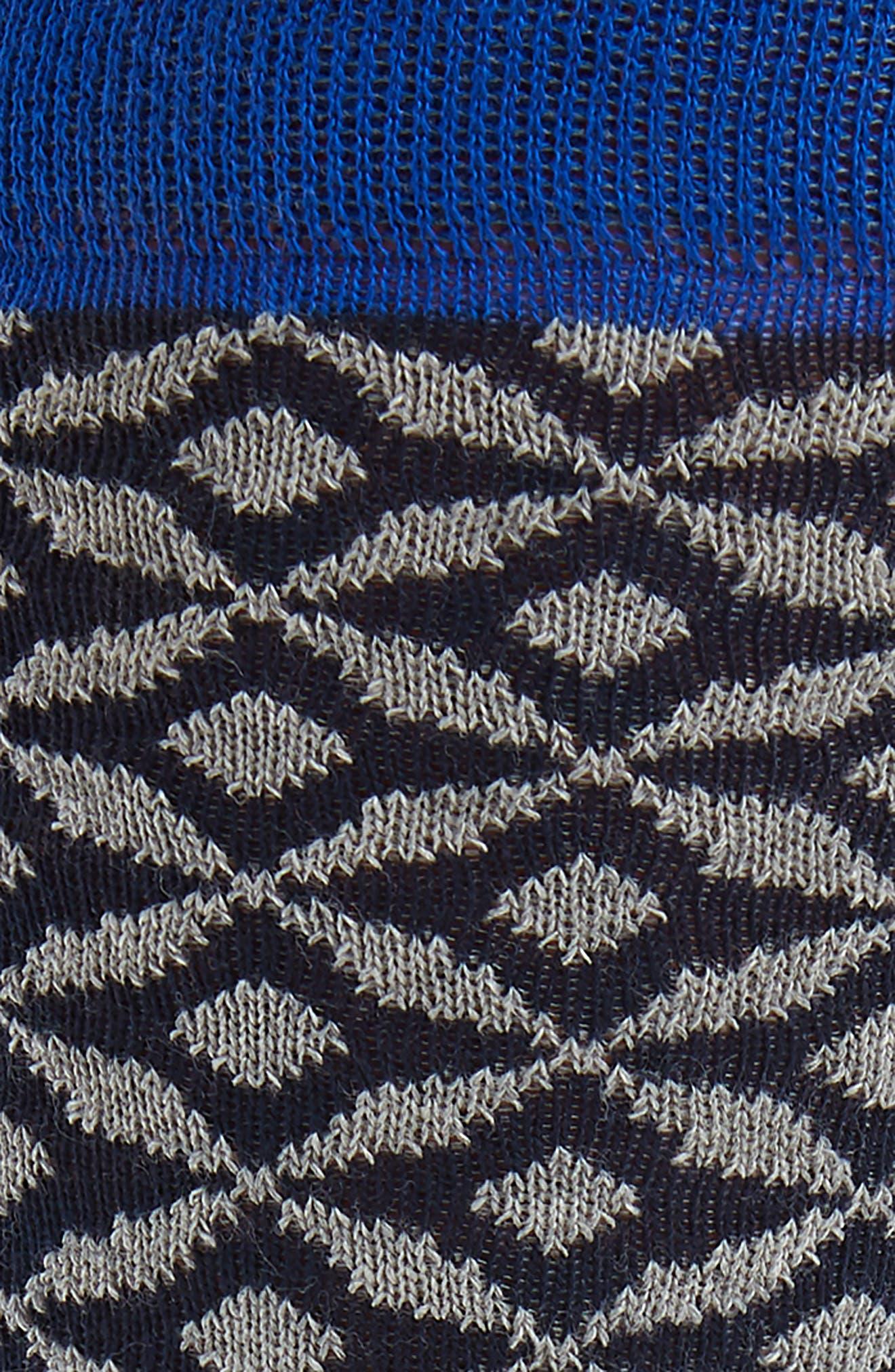 Geometric Socks,                             Alternate thumbnail 4, color,