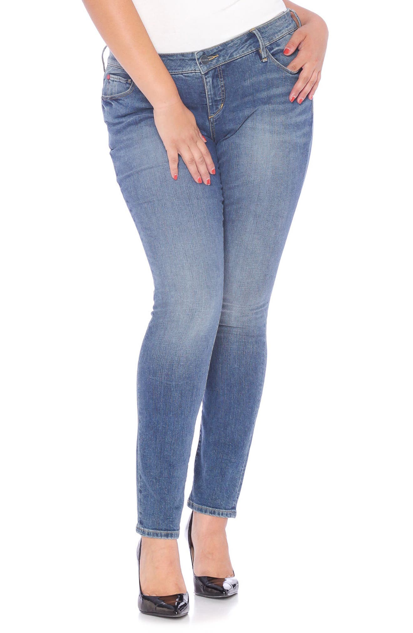 Skinny Jeans,                         Main,                         color, VICTORIA