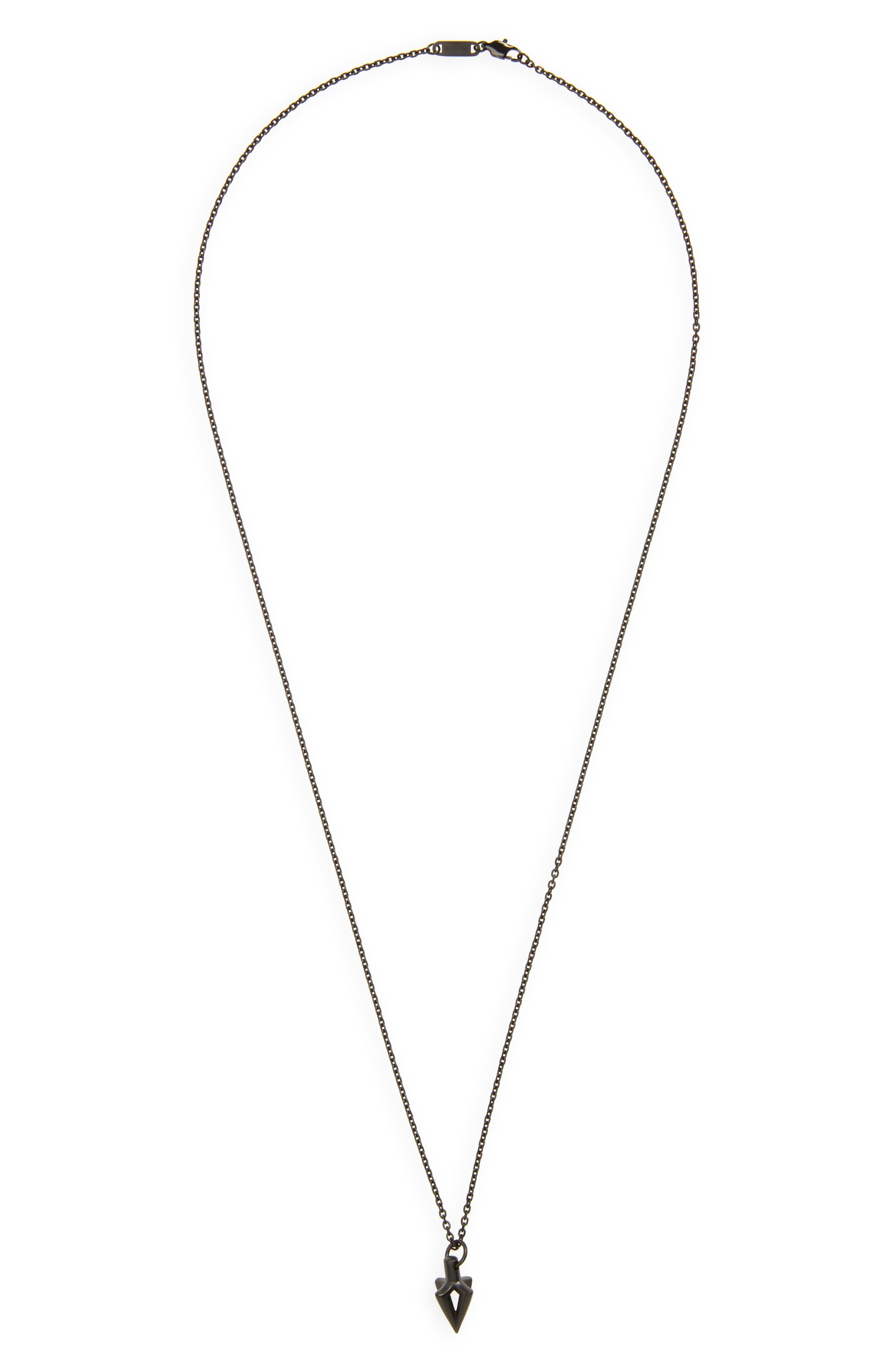 Arcus Pendant Necklace,                         Main,                         color, 001
