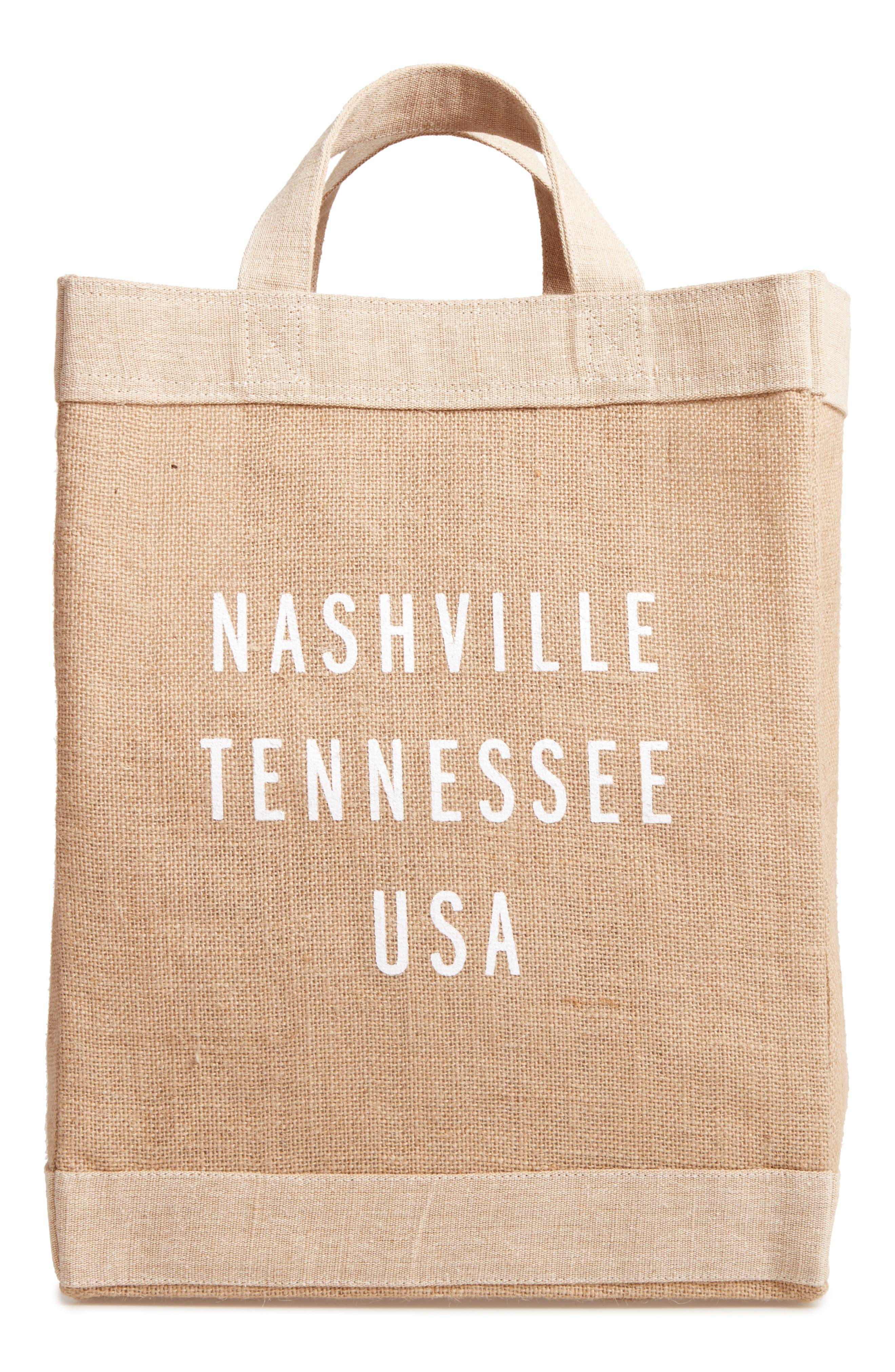 Nashville Simple Market Bag,                             Main thumbnail 1, color,                             200