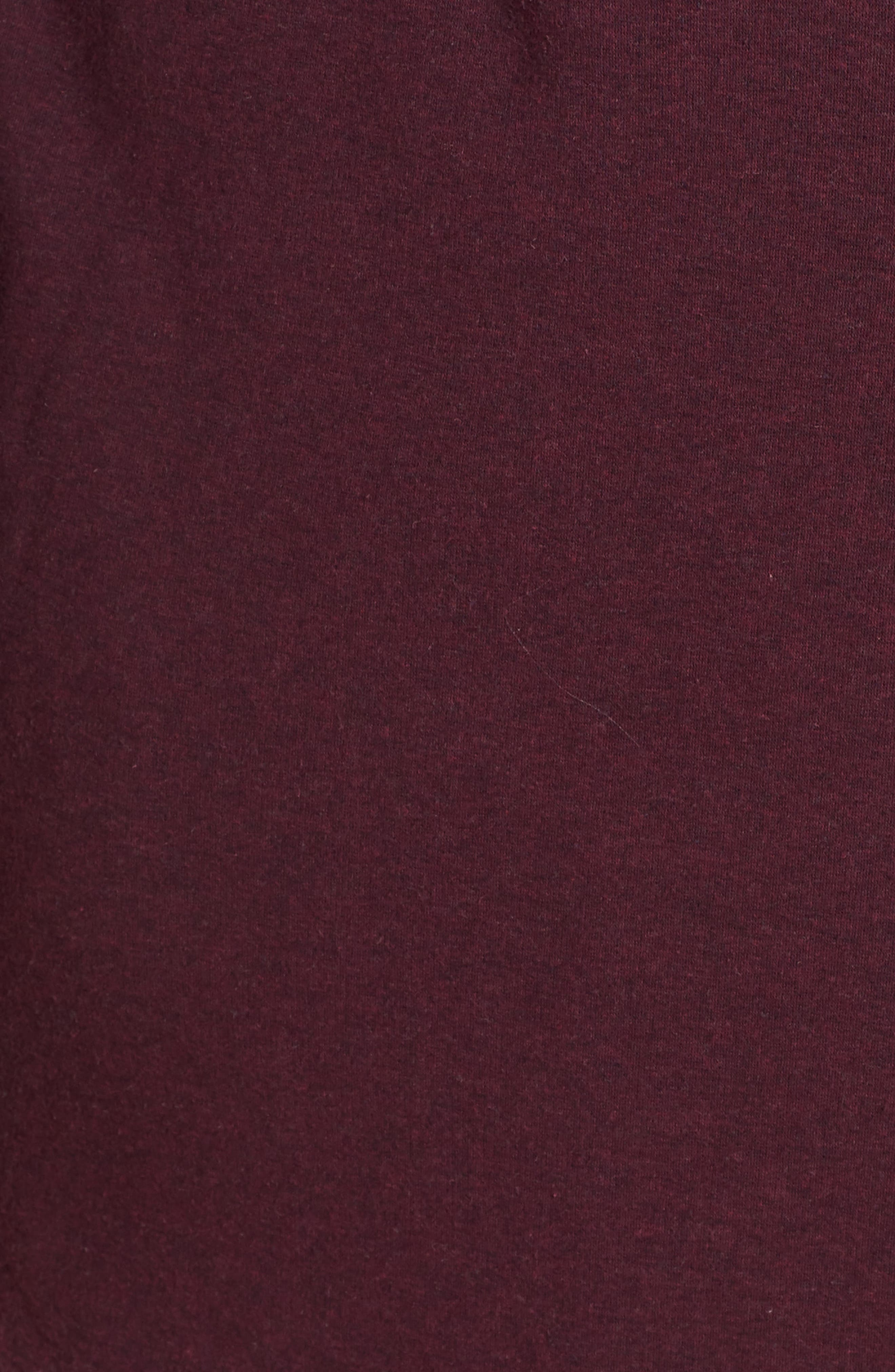 Duffield II Robe,                             Alternate thumbnail 5, color,                             PORT HEATHER
