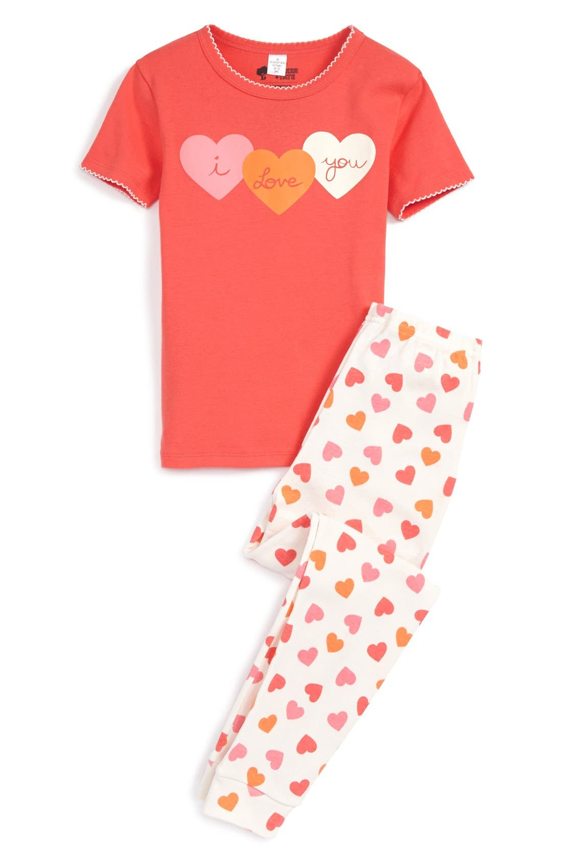 Two-Piece Fitted Pajamas,                             Main thumbnail 7, color,