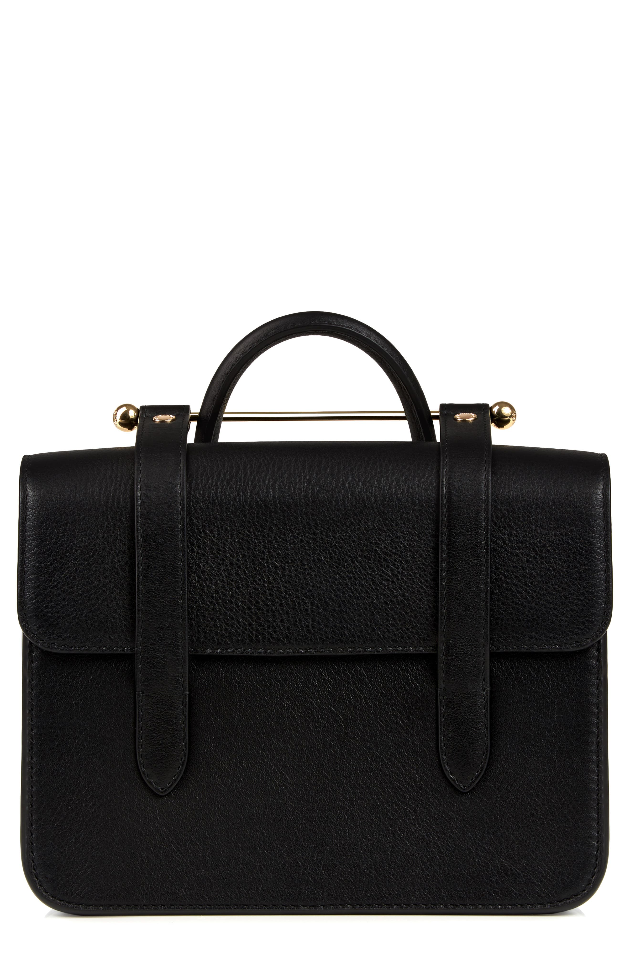 MC Mini Leather Crossbody Bag,                             Main thumbnail 1, color,