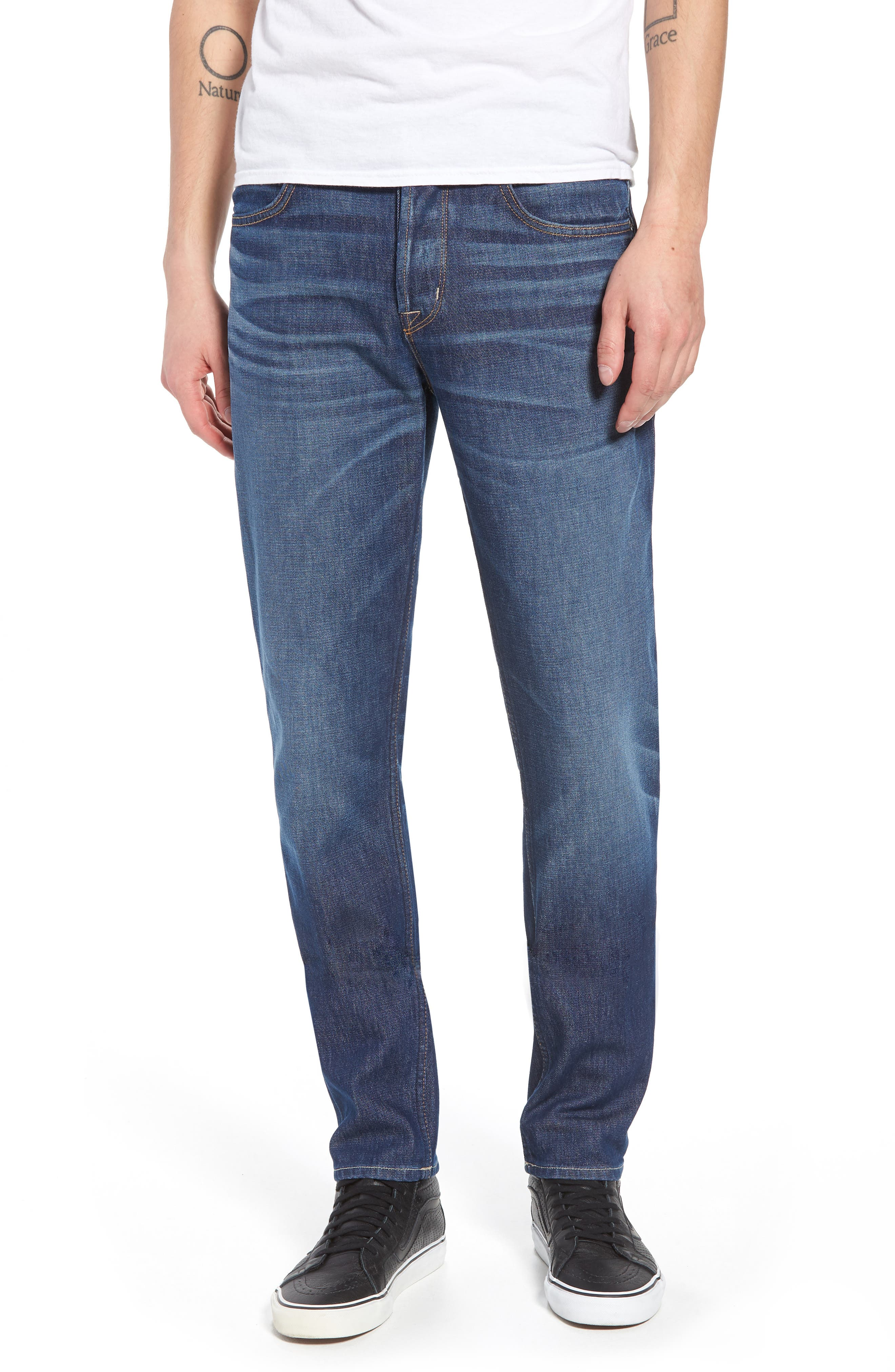 Axl Skinny Fit Jeans,                         Main,                         color, 425