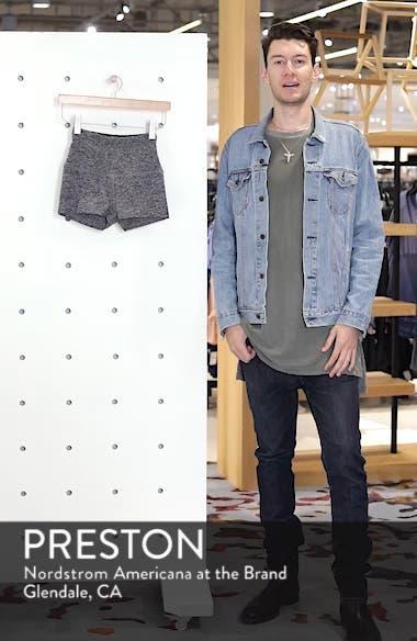 Space Dye Circuit High Waist Shorts, sales video thumbnail