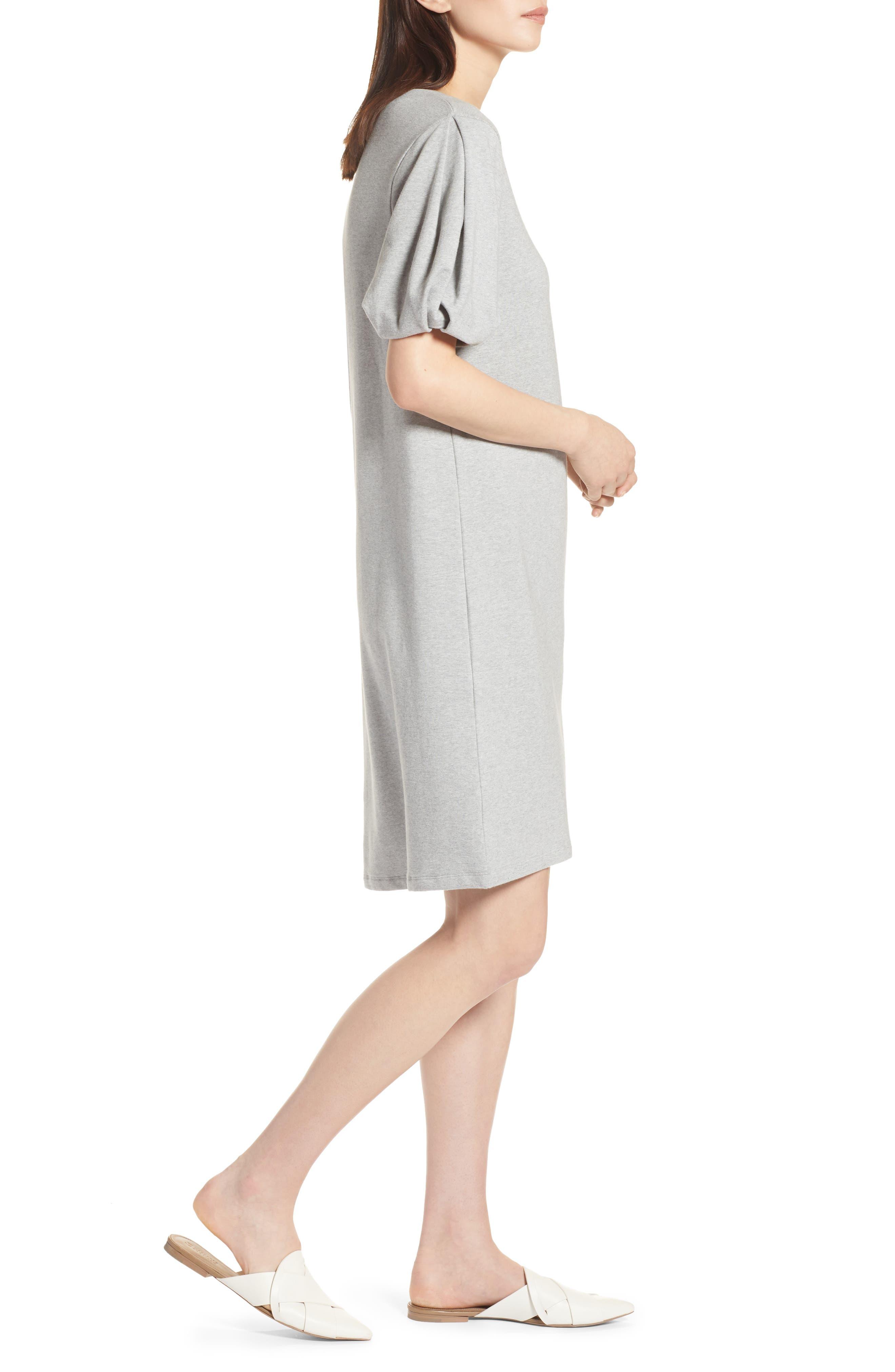 Bubble Sleeve Dress,                             Alternate thumbnail 12, color,