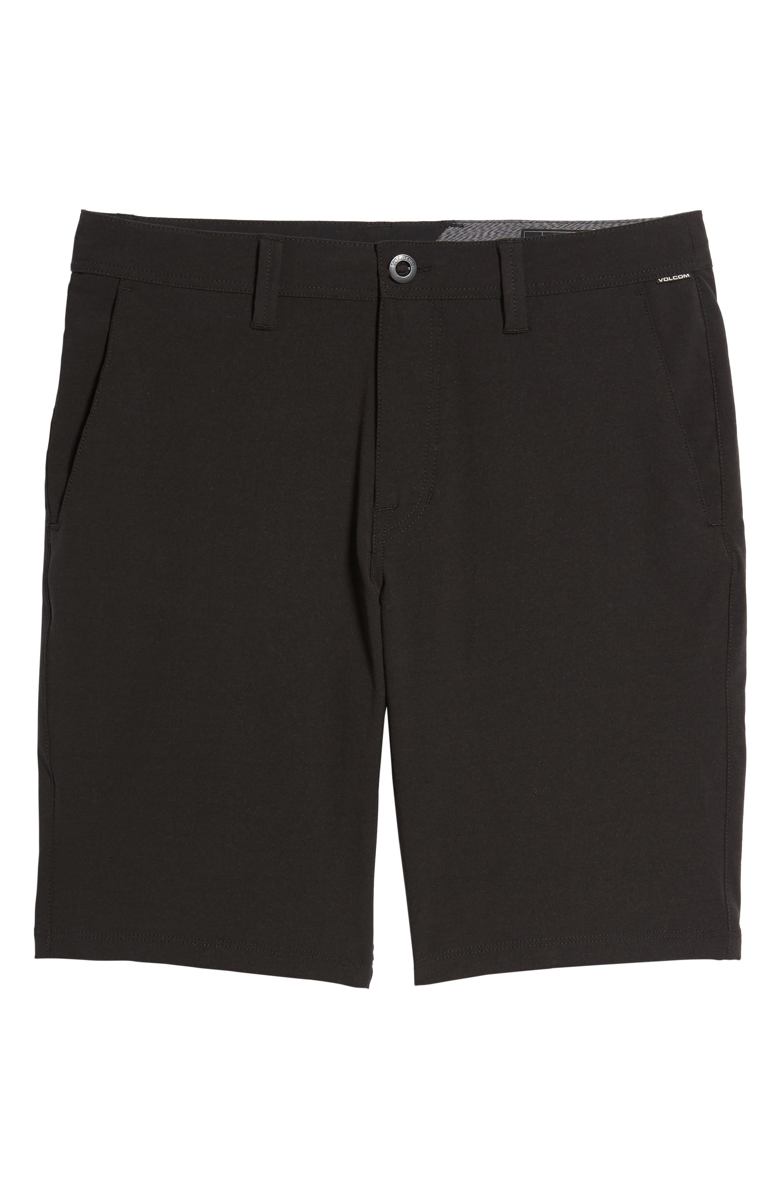 Hybrid Shorts,                             Alternate thumbnail 6, color,                             BLACK