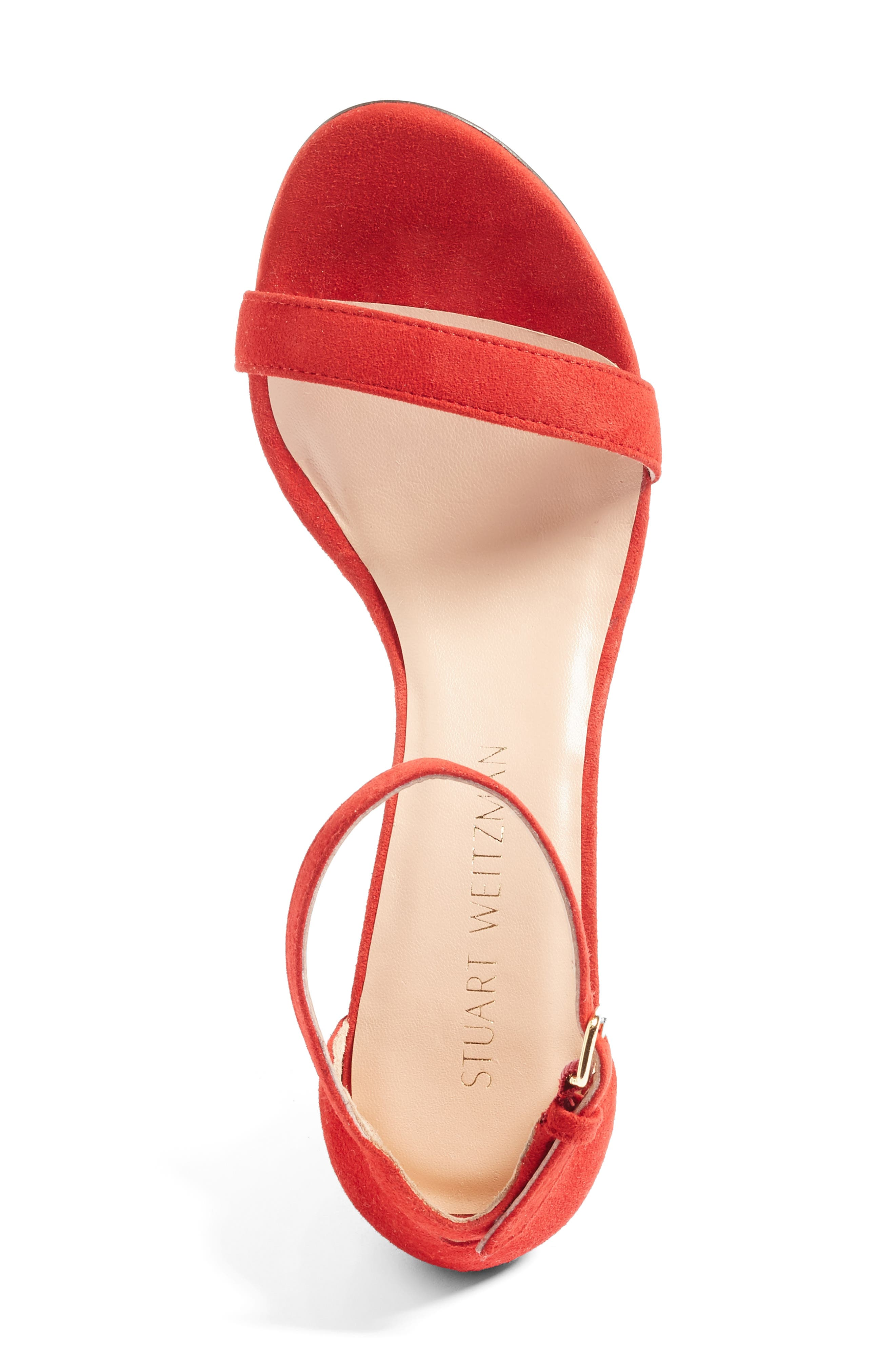 NearlyNude Ankle Strap Sandal,                             Alternate thumbnail 107, color,