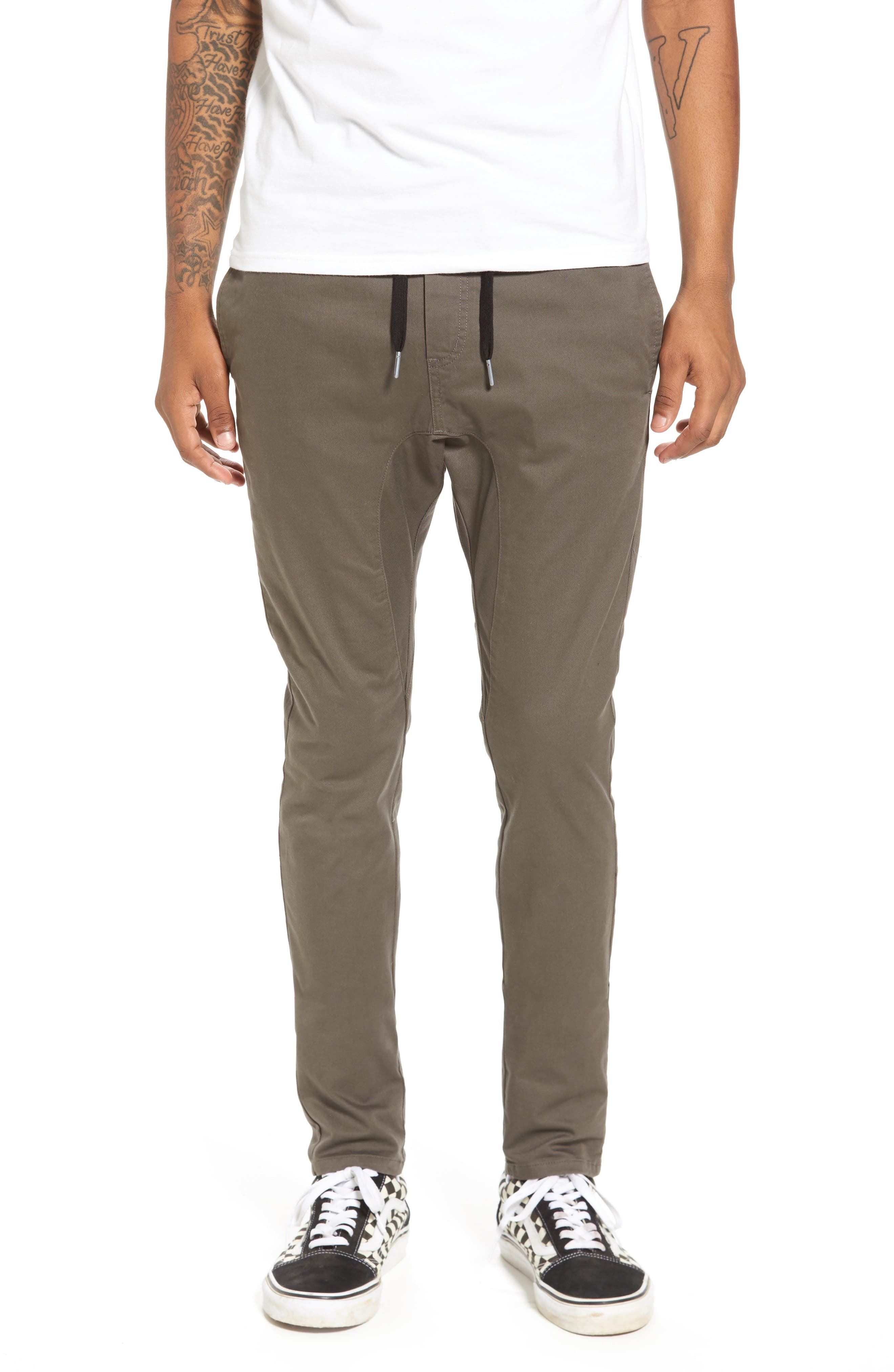 Salerno Stretch Woven Jogger Pants,                         Main,                         color, PEAT