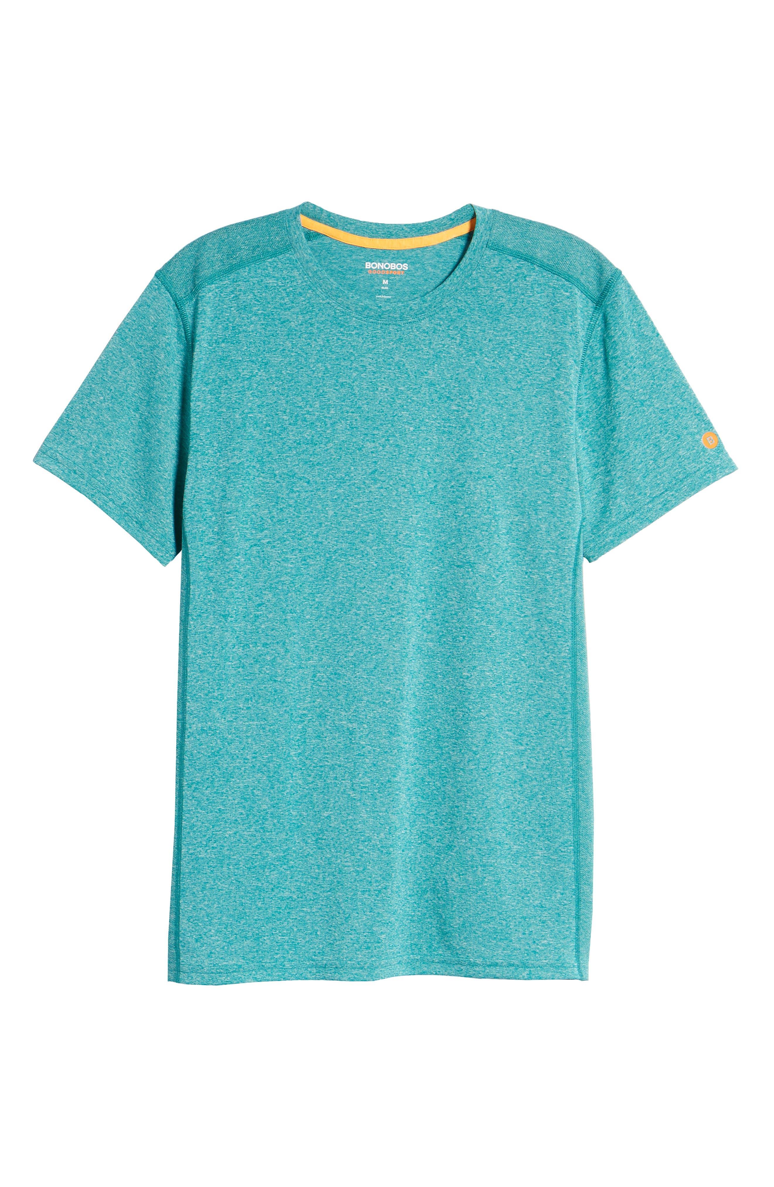 Goodsport Mesh Panel T-Shirt,                             Alternate thumbnail 34, color,
