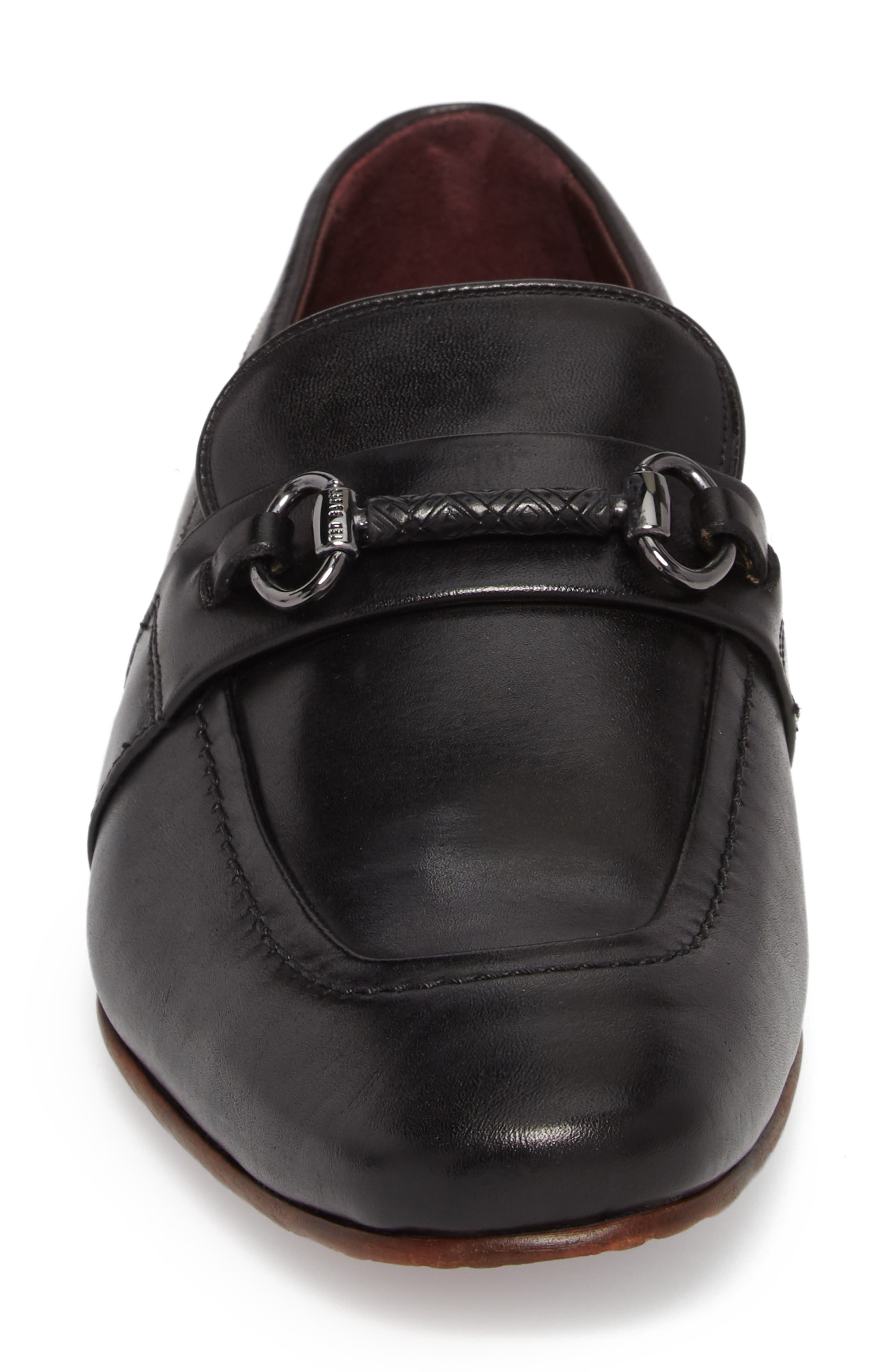 Daiser Bit Loafer,                             Alternate thumbnail 4, color,                             001