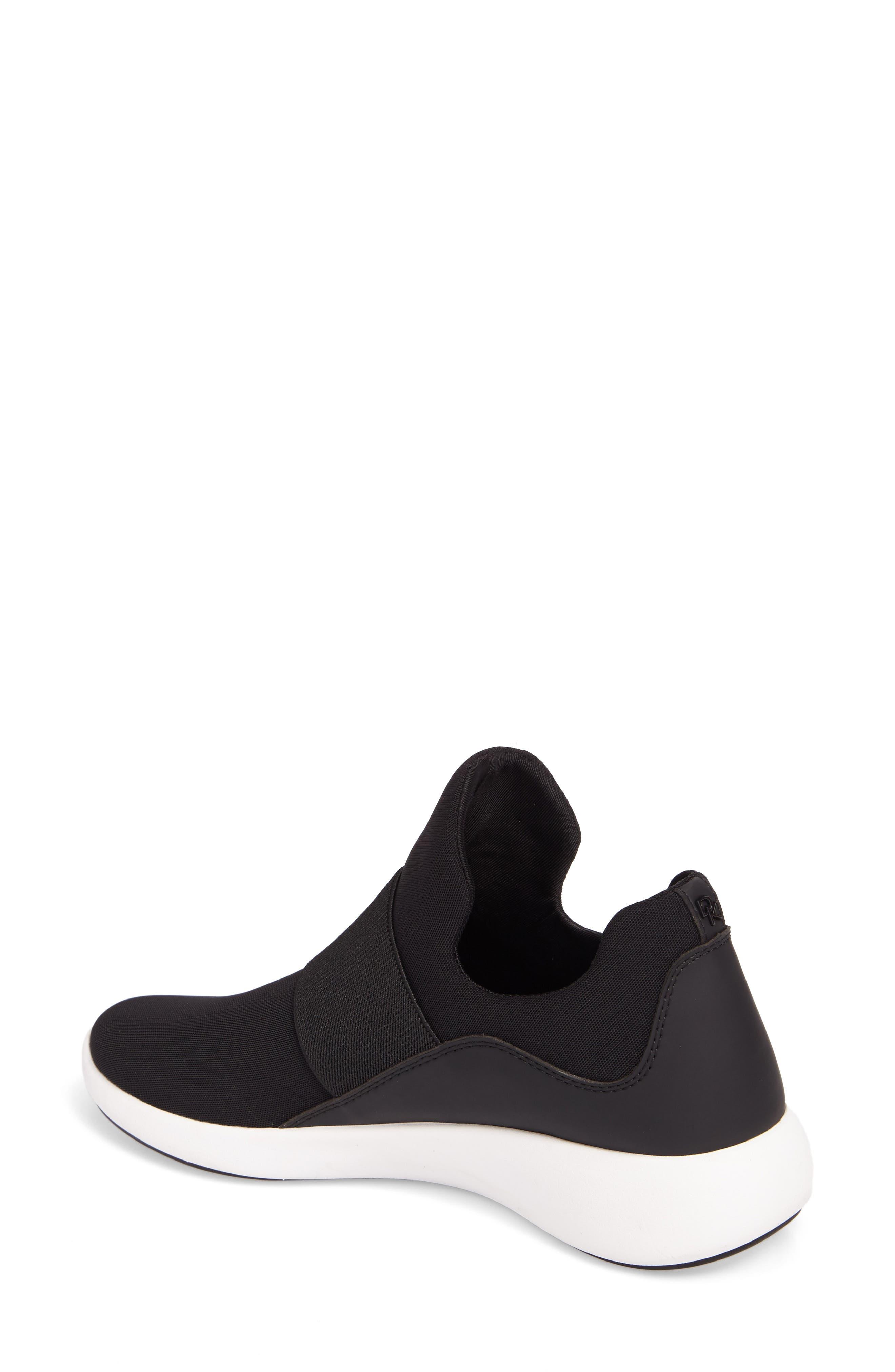 Donna Karan Cory Slip-On Sneaker,                             Alternate thumbnail 2, color,                             001