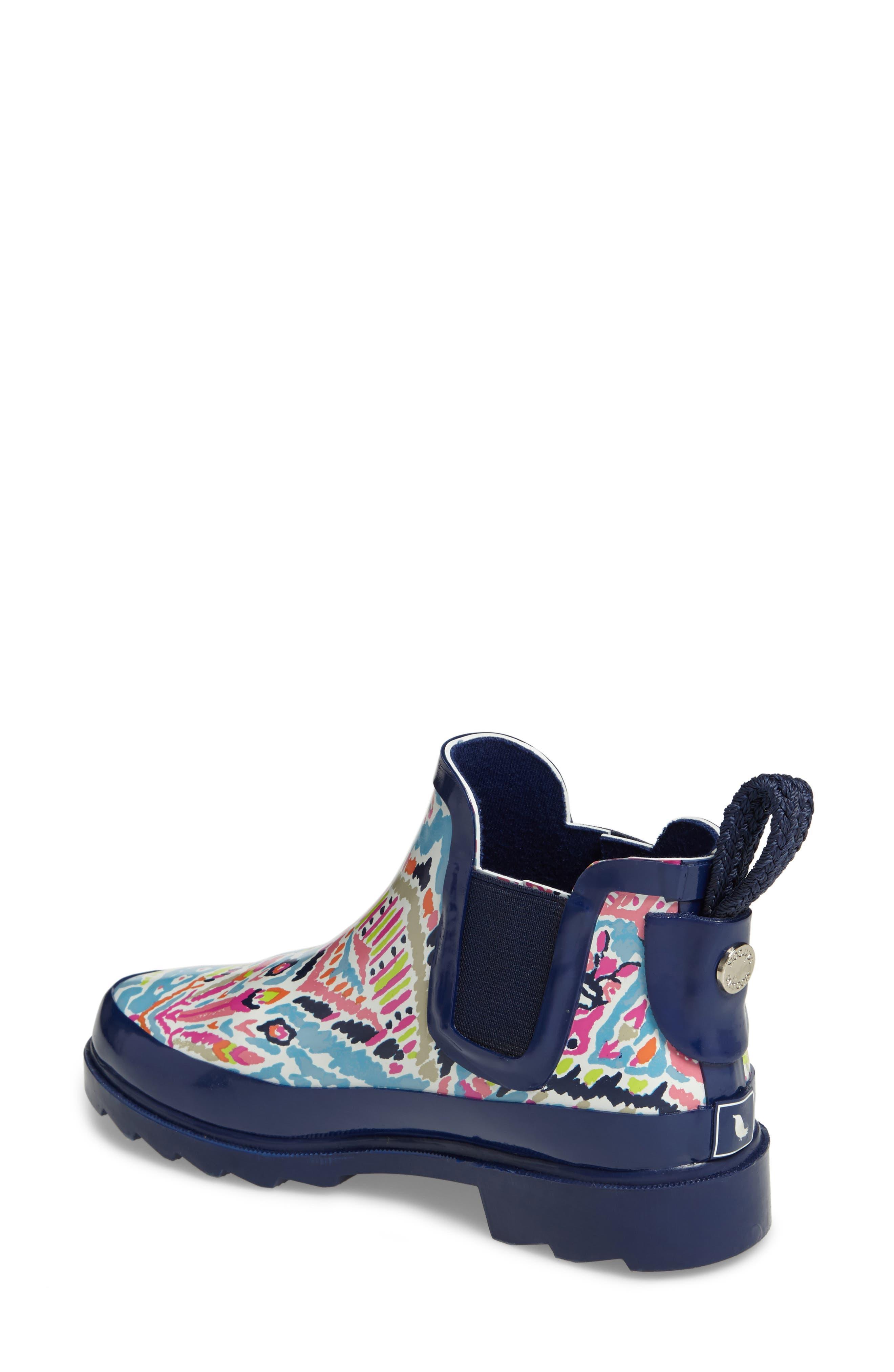 'Rhyme' Waterproof Rain Boot,                             Alternate thumbnail 36, color,