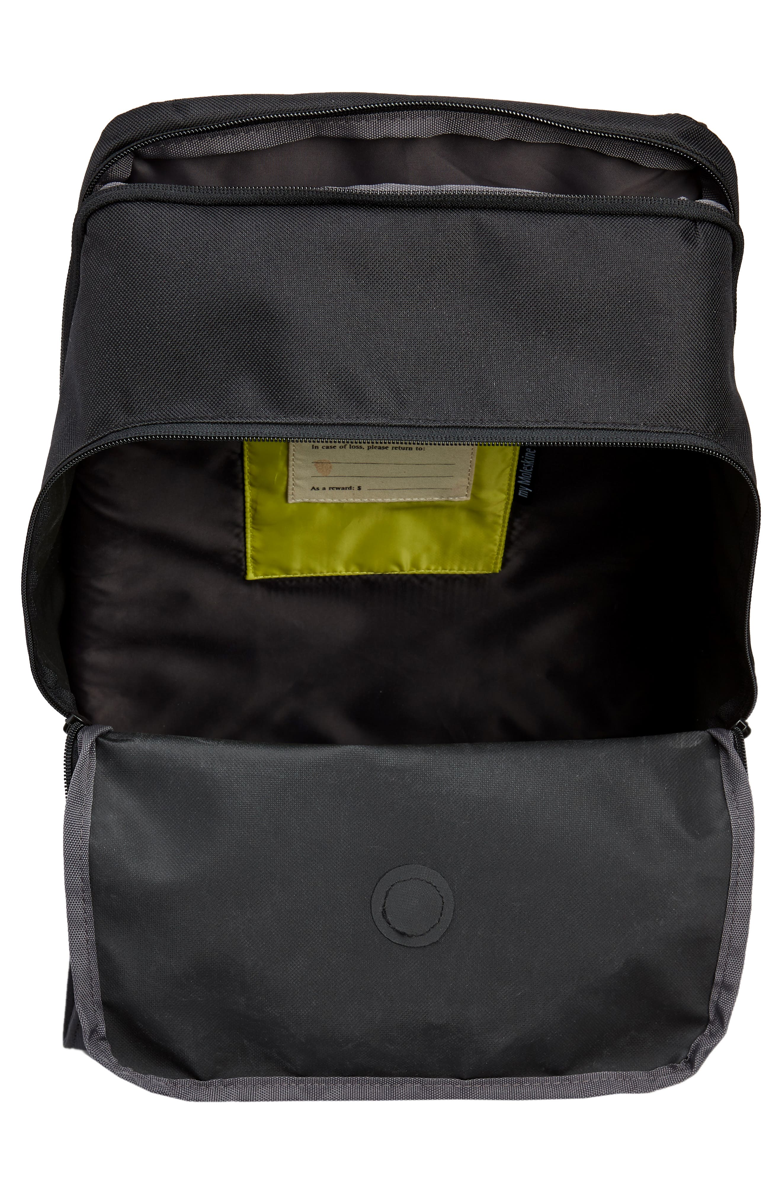 Nomad Water Resistant Backpack,                             Alternate thumbnail 4, color,                             001