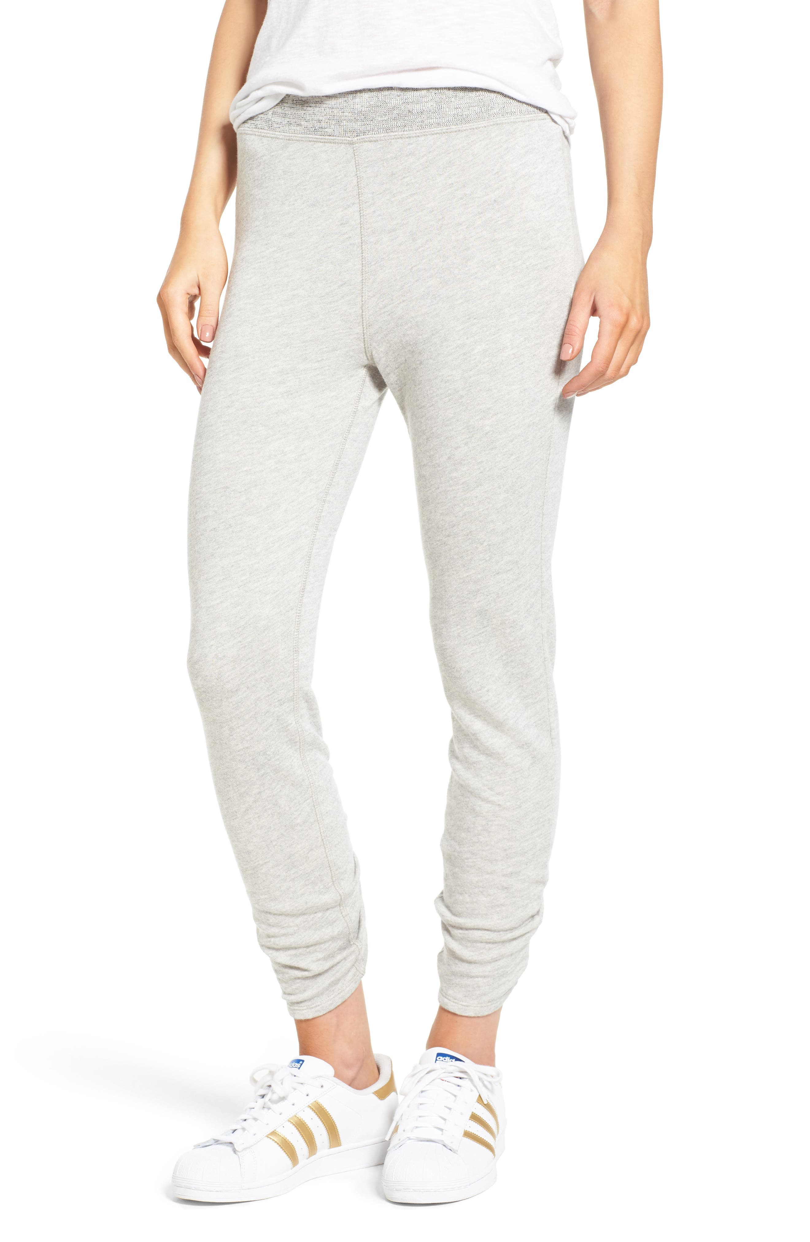 Isla High Waist Crop Sweatpants,                         Main,                         color,