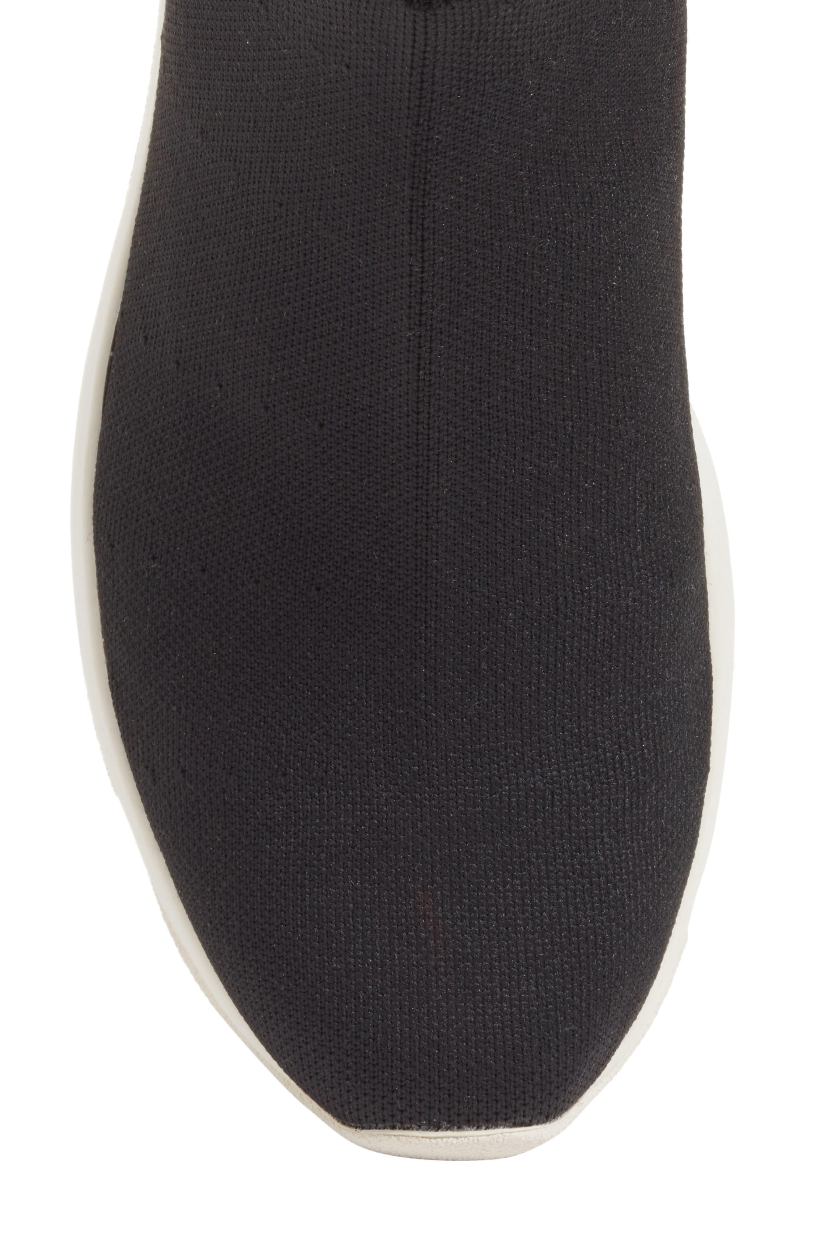 Tyra Sock Sneaker,                             Alternate thumbnail 5, color,                             001