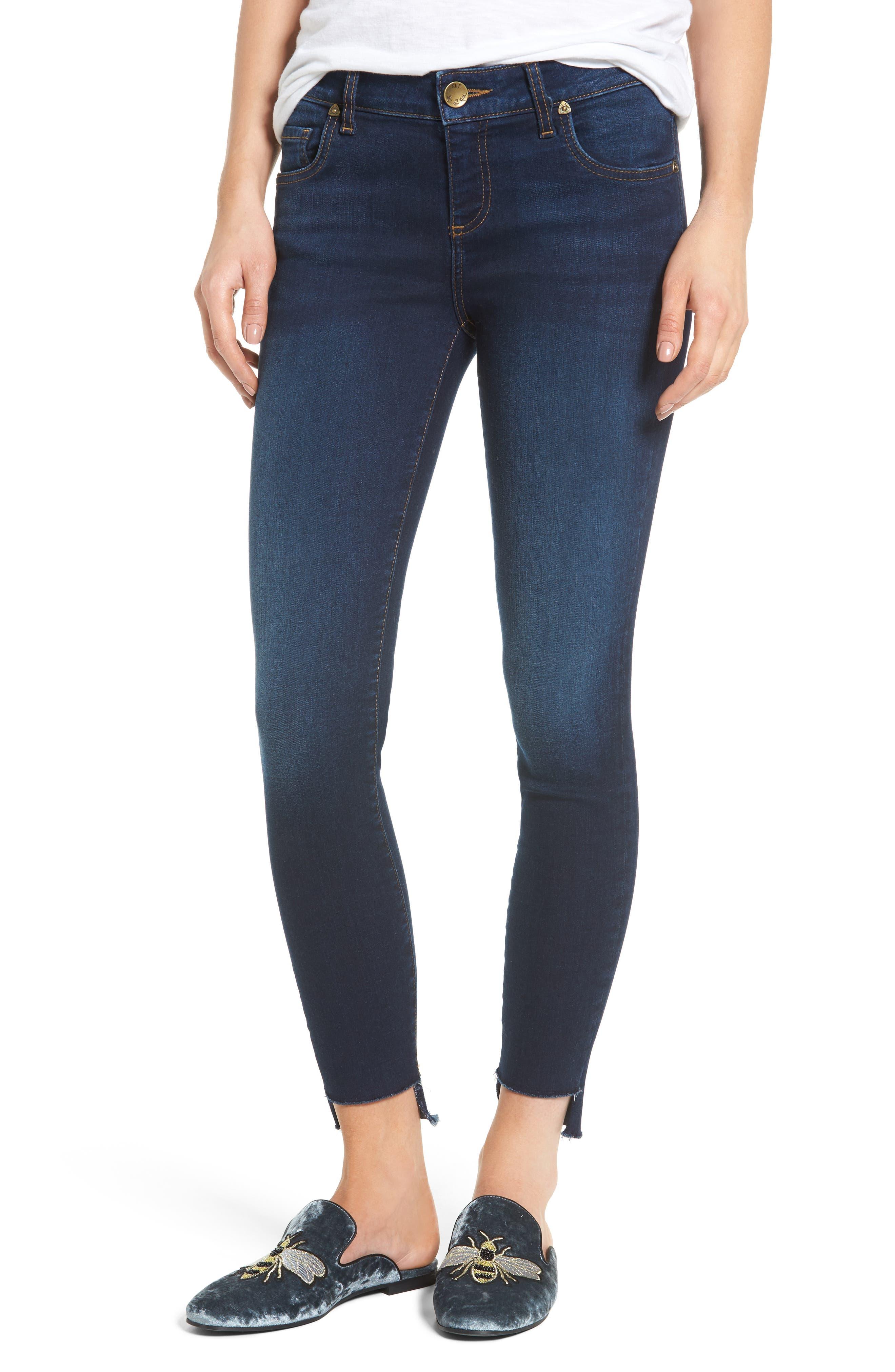 Connie Step Hem Ankle Jeans,                             Main thumbnail 1, color,                             410