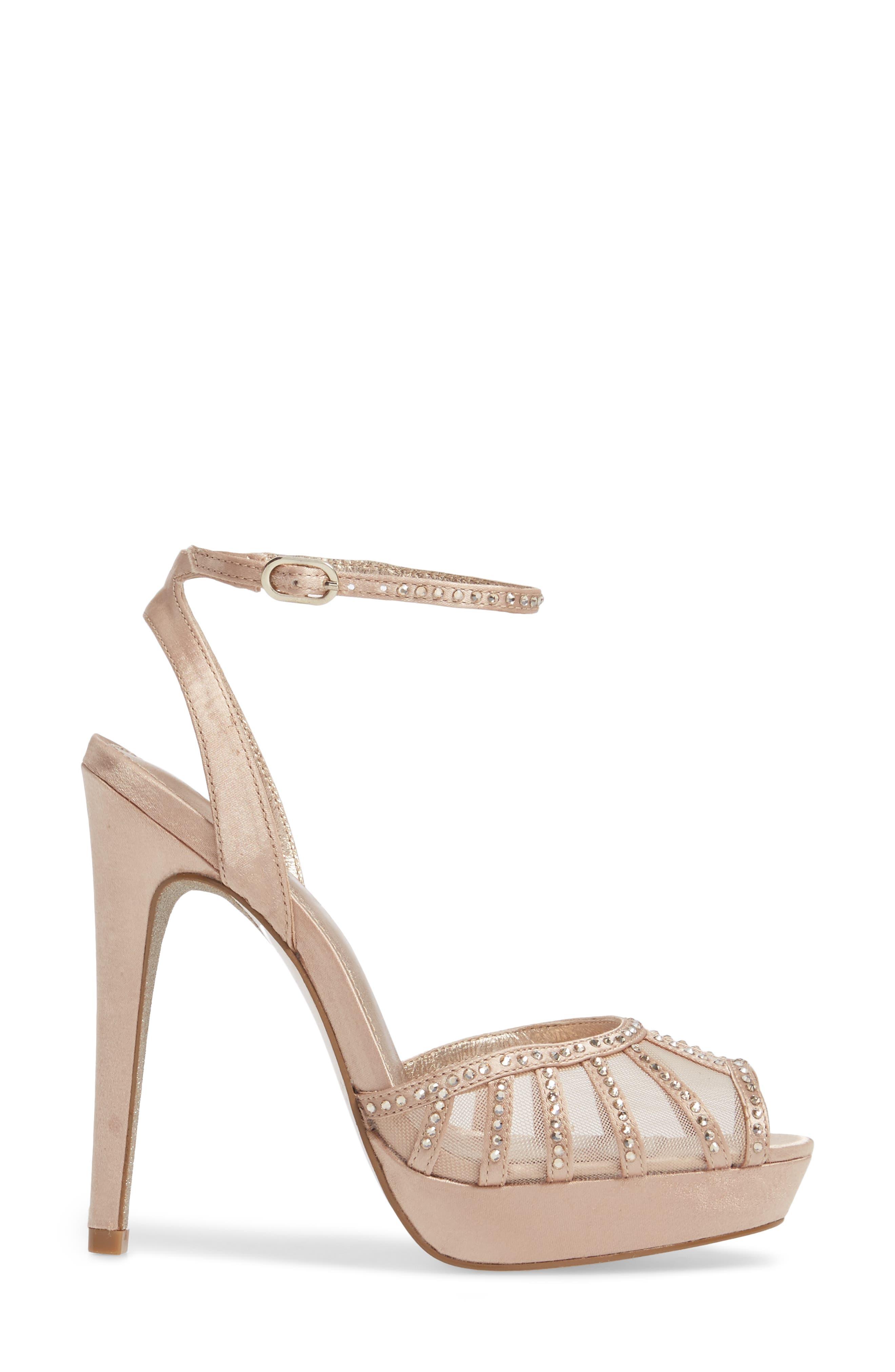 Simone Crystal Embellished Platform Sandal,                             Alternate thumbnail 11, color,