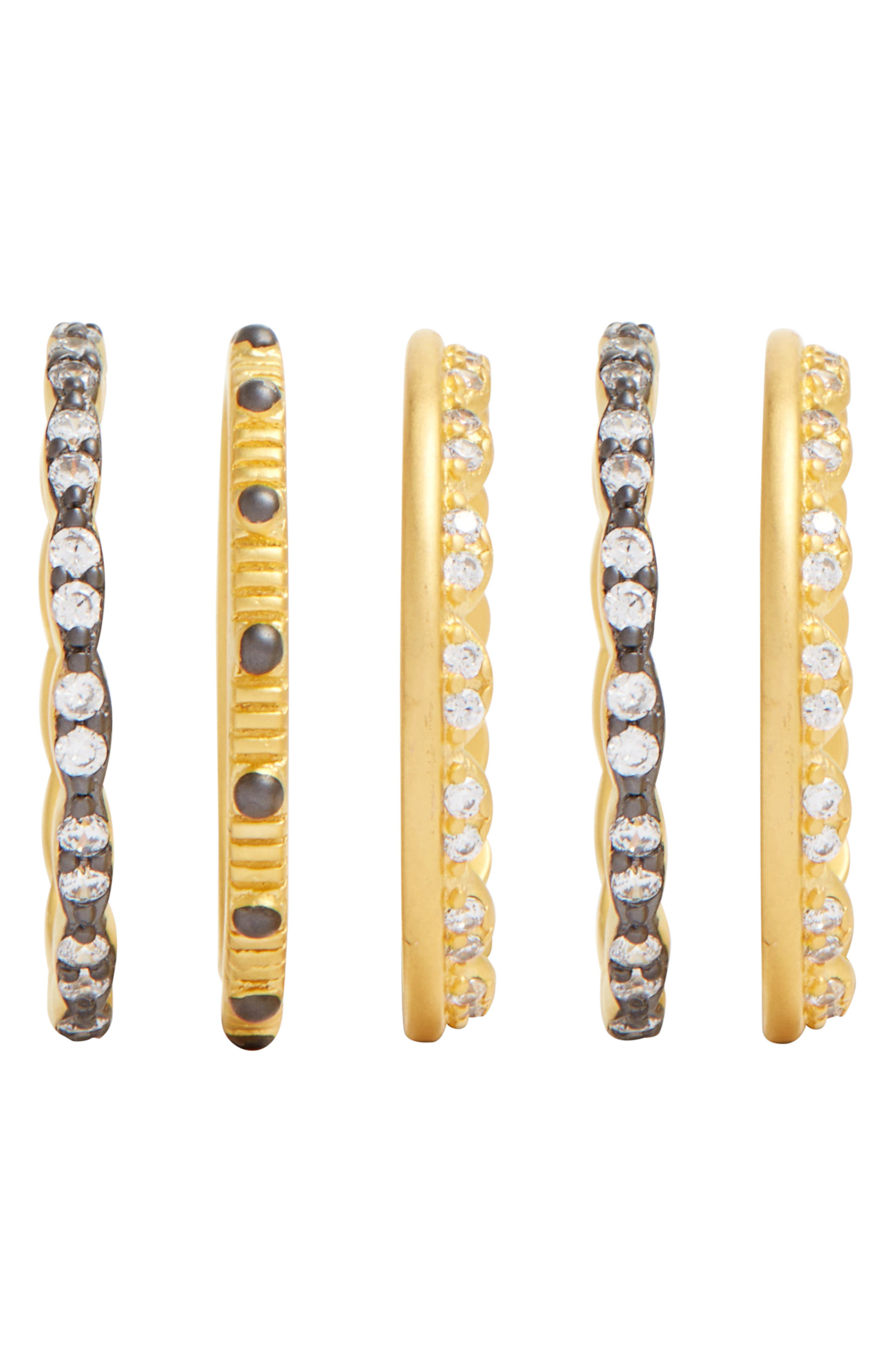 Set of 5 Stack Rings,                             Alternate thumbnail 3, color,                             710