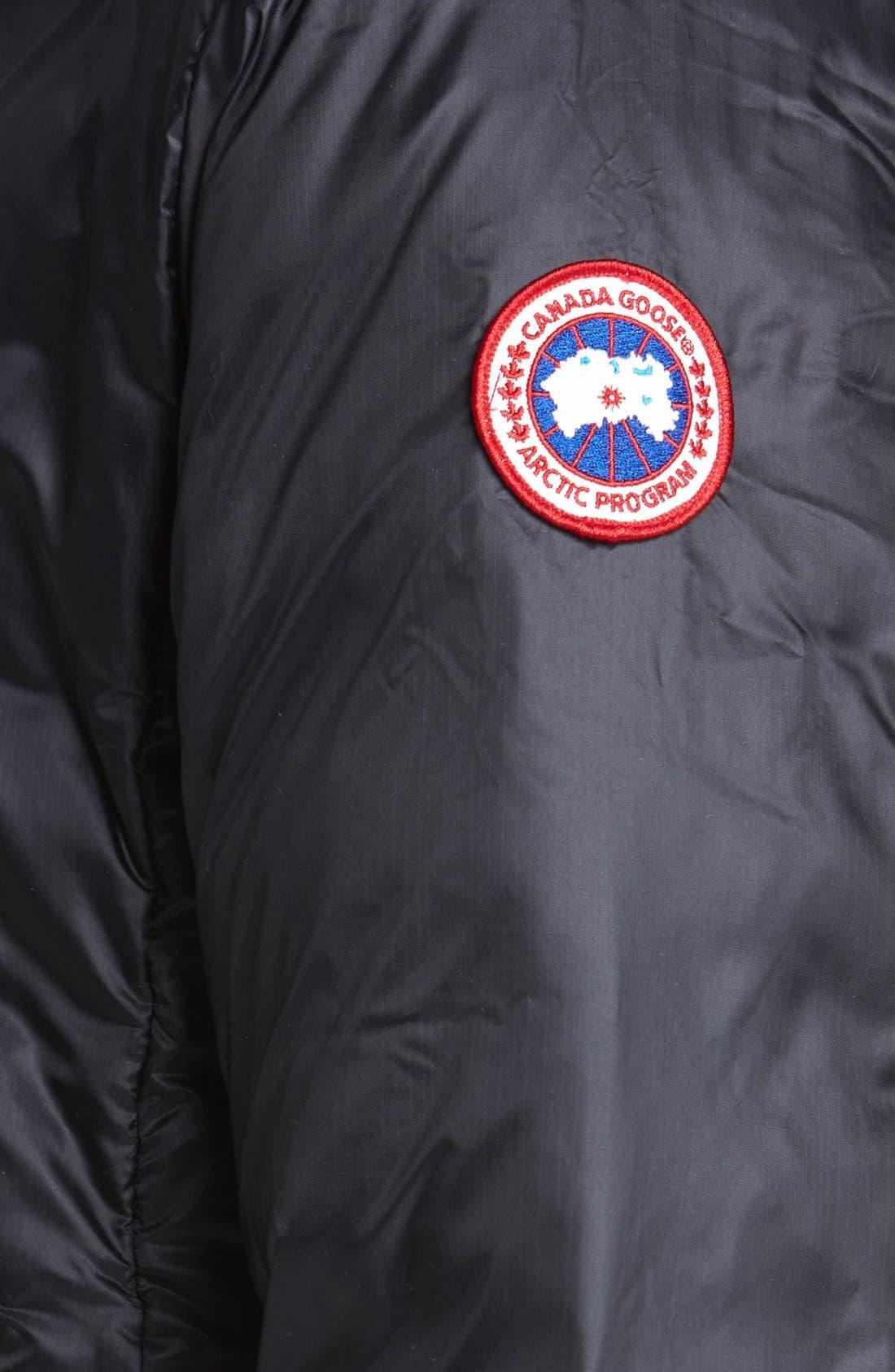 Camp Down Jacket,                             Alternate thumbnail 9, color,                             BLACK
