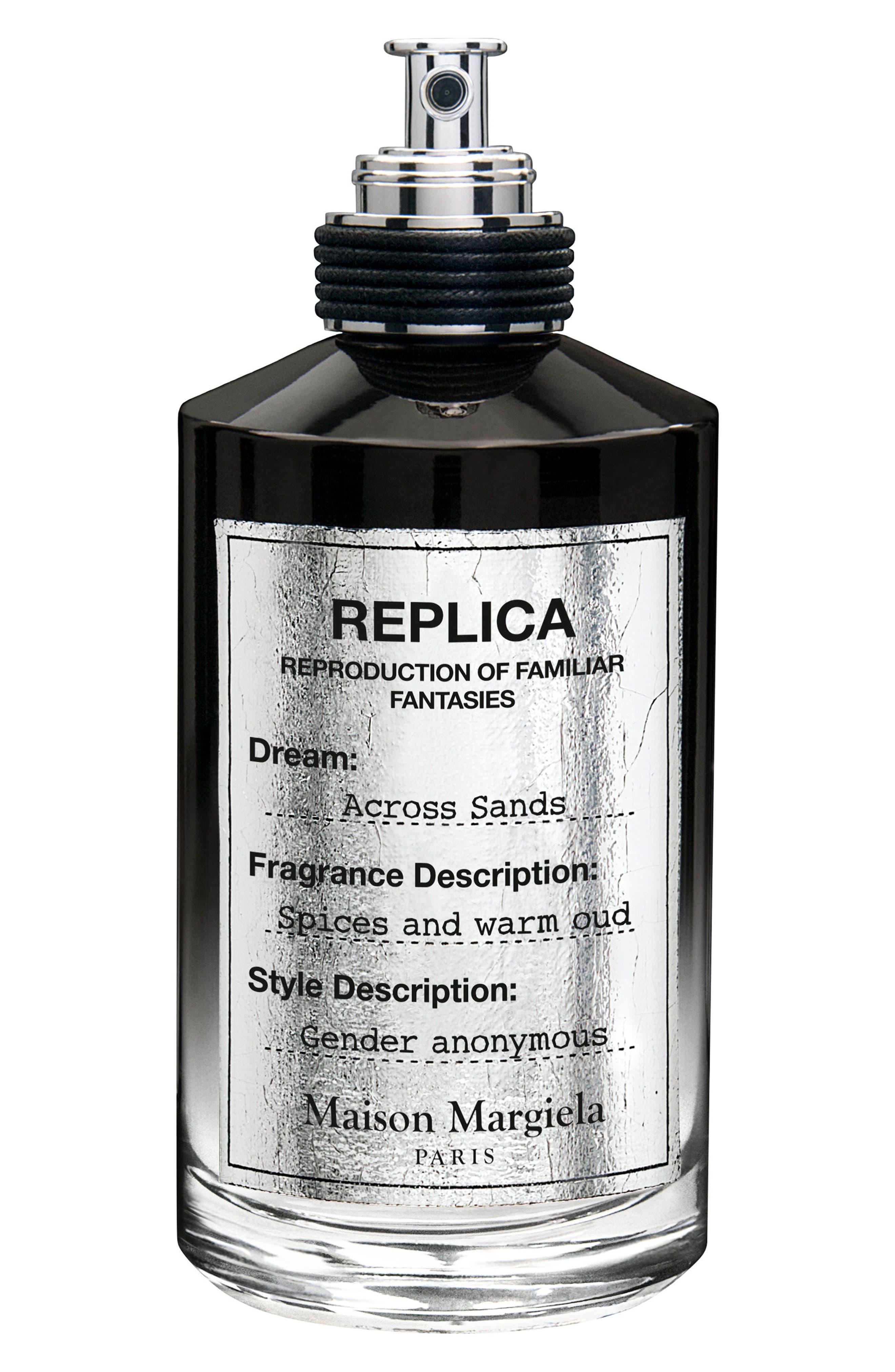 Replica Across Sands Eau de Parfum,                             Main thumbnail 1, color,                             NO COLOR