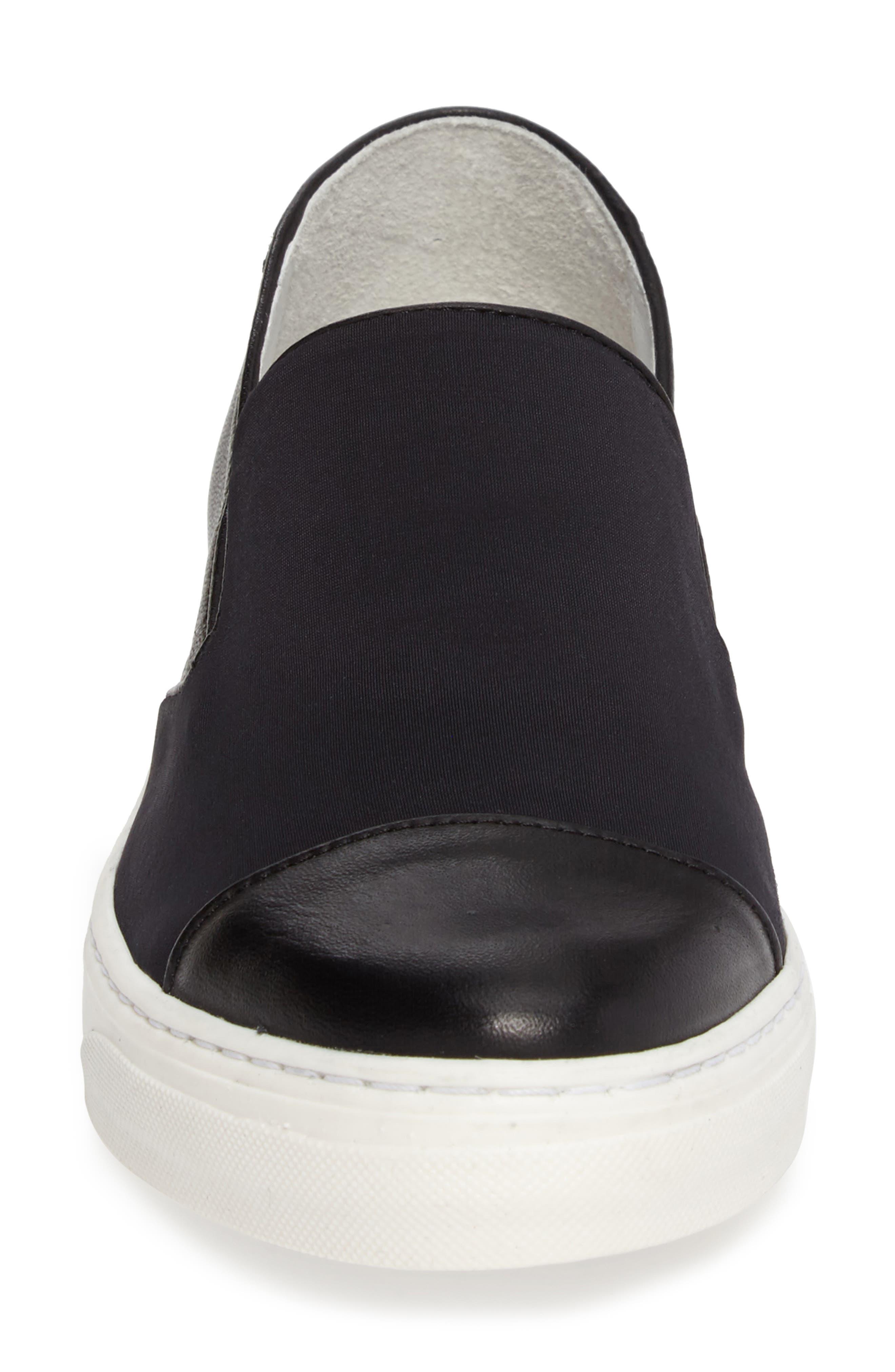 Betsy Slip-On Sneaker,                             Alternate thumbnail 4, color,                             001
