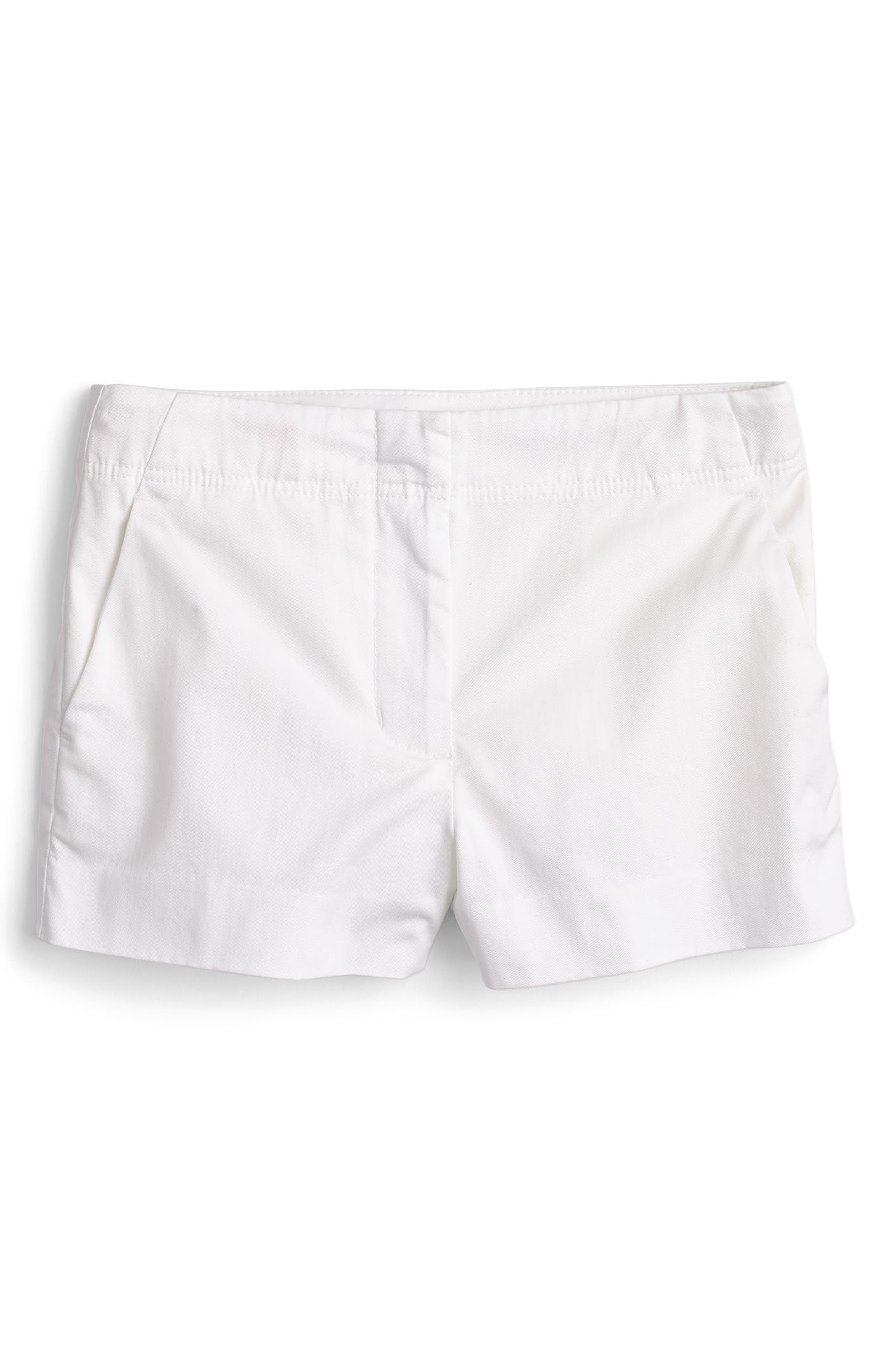 Frankie Stretch Cotton Shorts,                             Main thumbnail 1, color,                             101