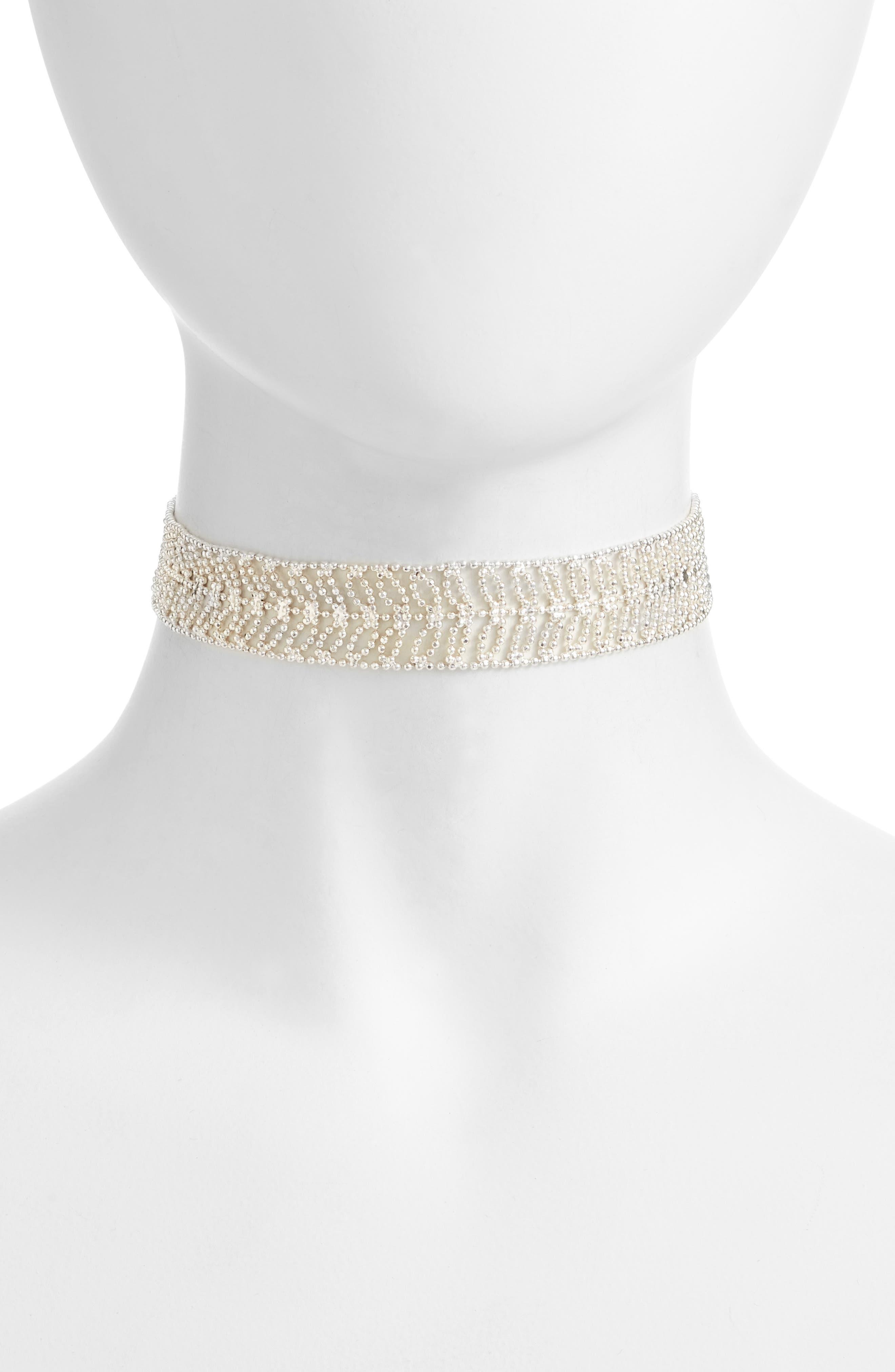 Elm Choker Necklace,                         Main,                         color, 040