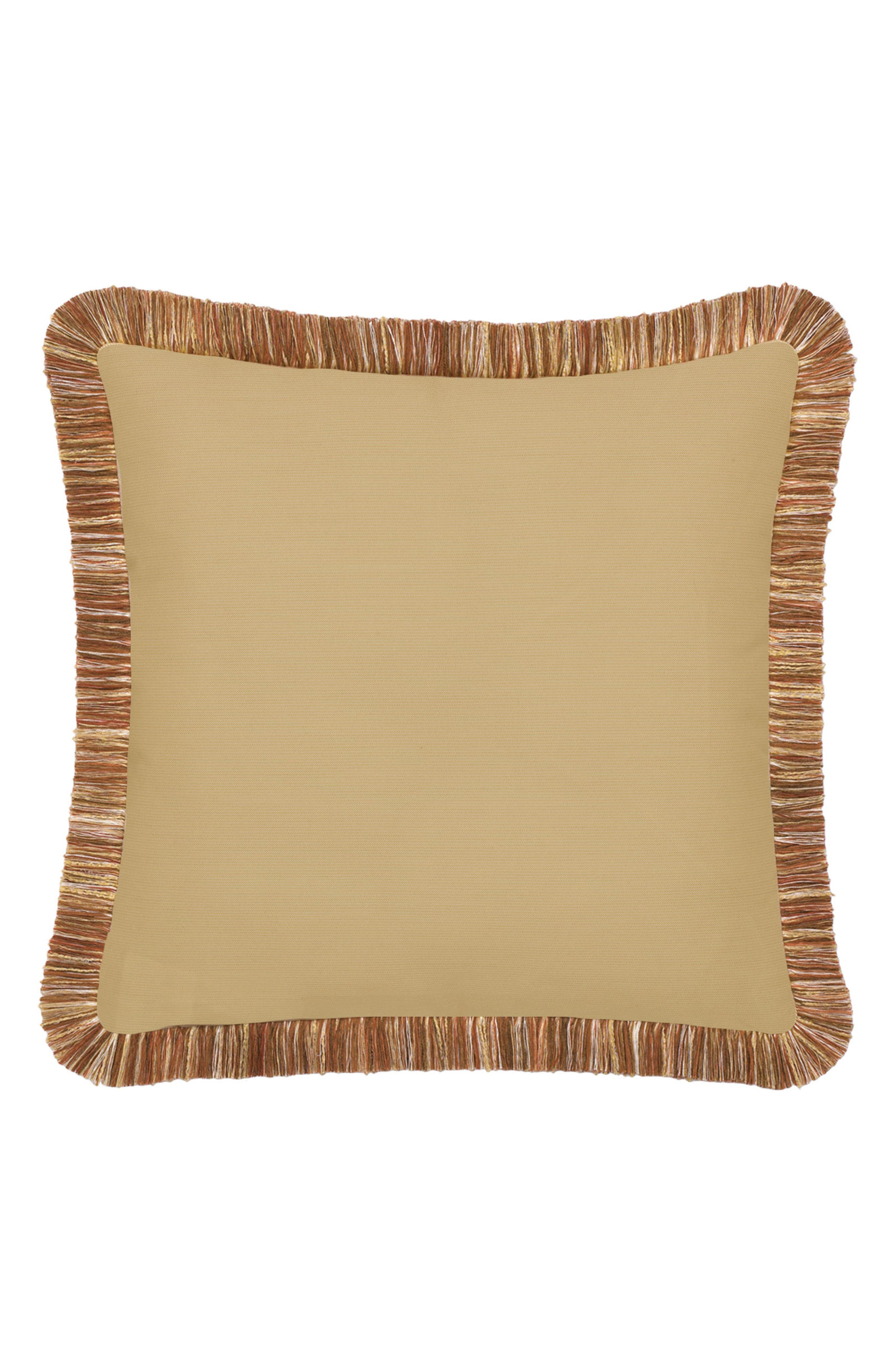 Dragonfly Indoor/Outdoor Accent Pillow,                             Alternate thumbnail 2, color,                             BROWN