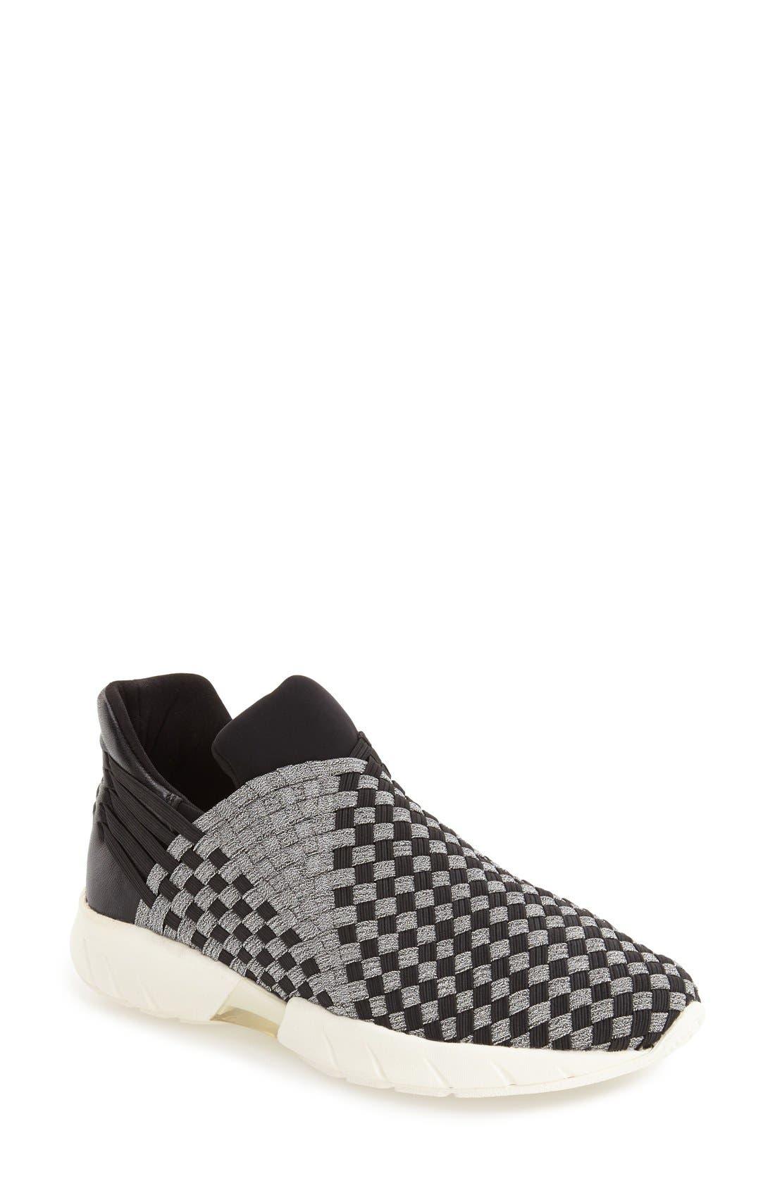 'Razer' Woven Slip-On Sneaker,                             Main thumbnail 1, color,                             014
