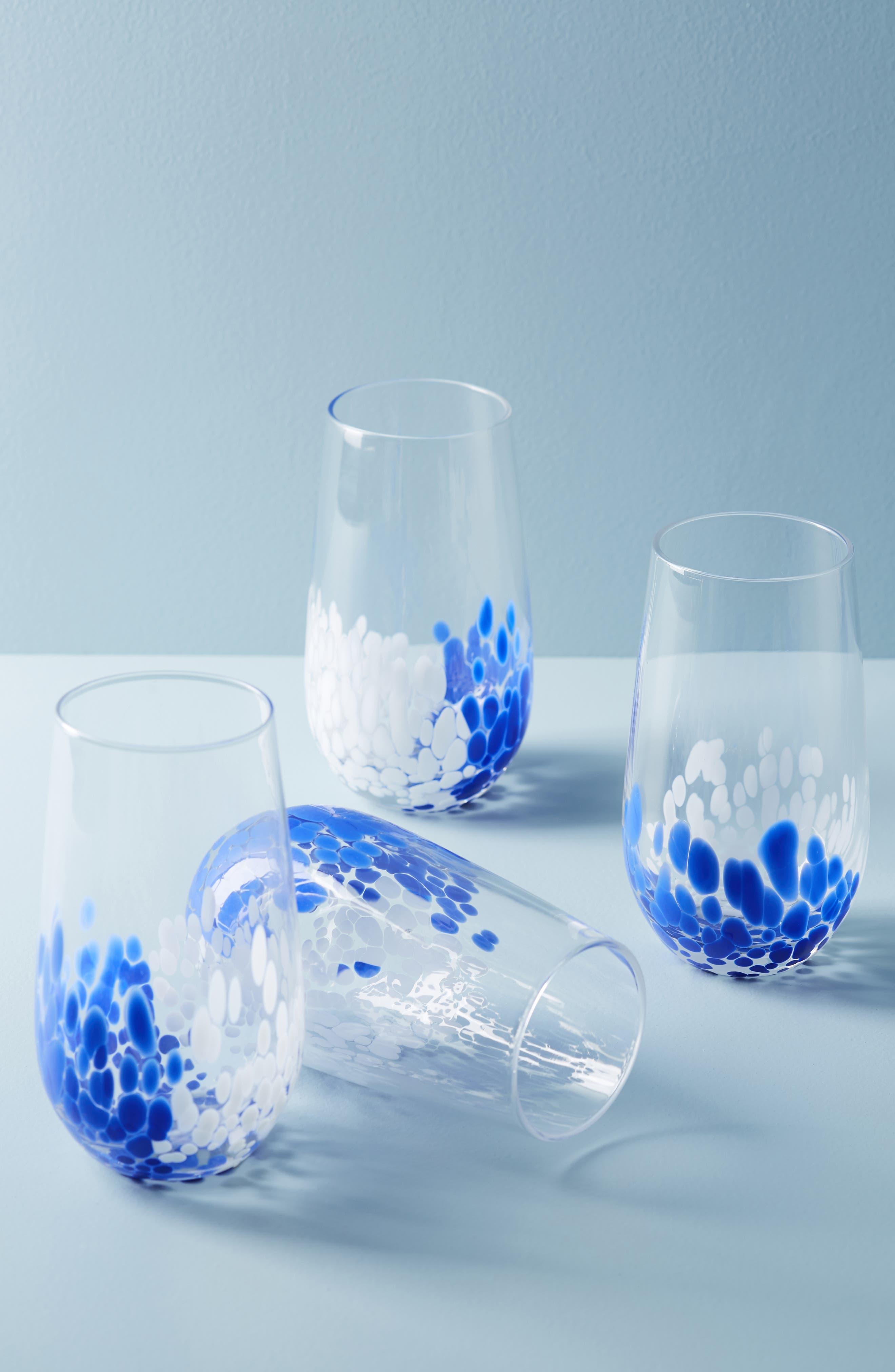 Allura Glass,                             Alternate thumbnail 2, color,                             SAPPHIRE
