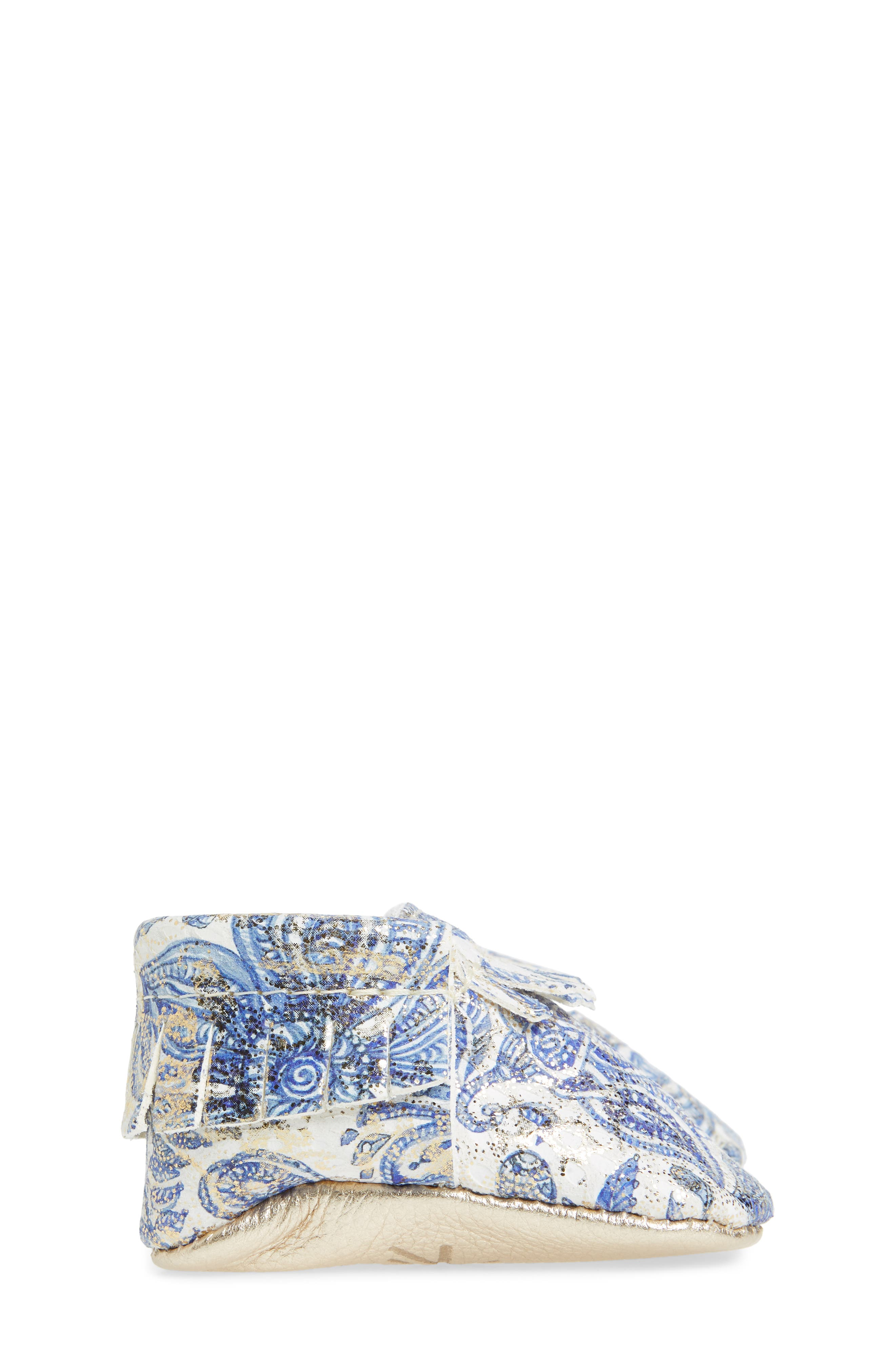 Paisley Glitter Moccasin,                             Alternate thumbnail 4, color,                             408