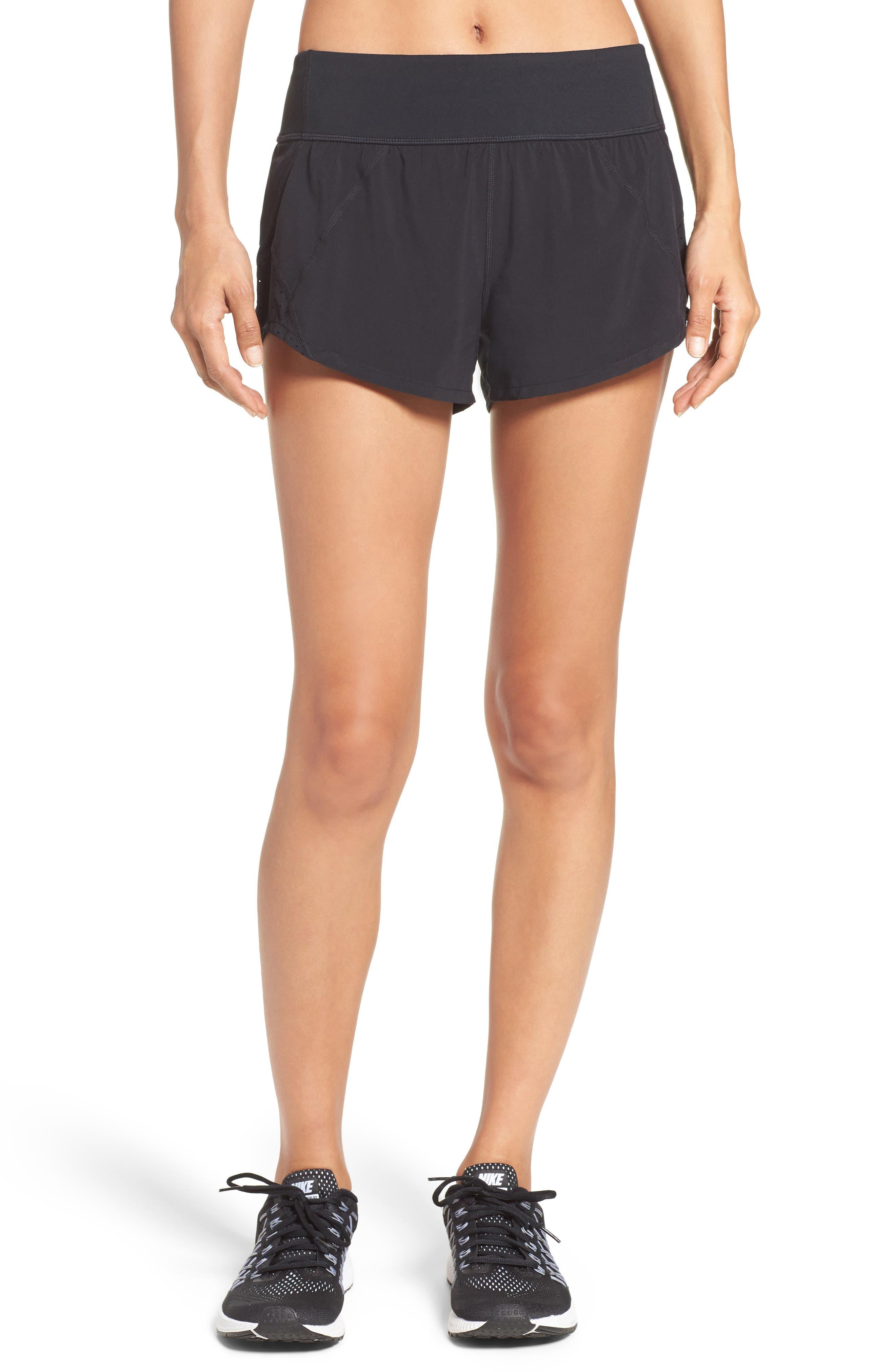 Runaround Compact Shorts,                             Main thumbnail 1, color,                             001