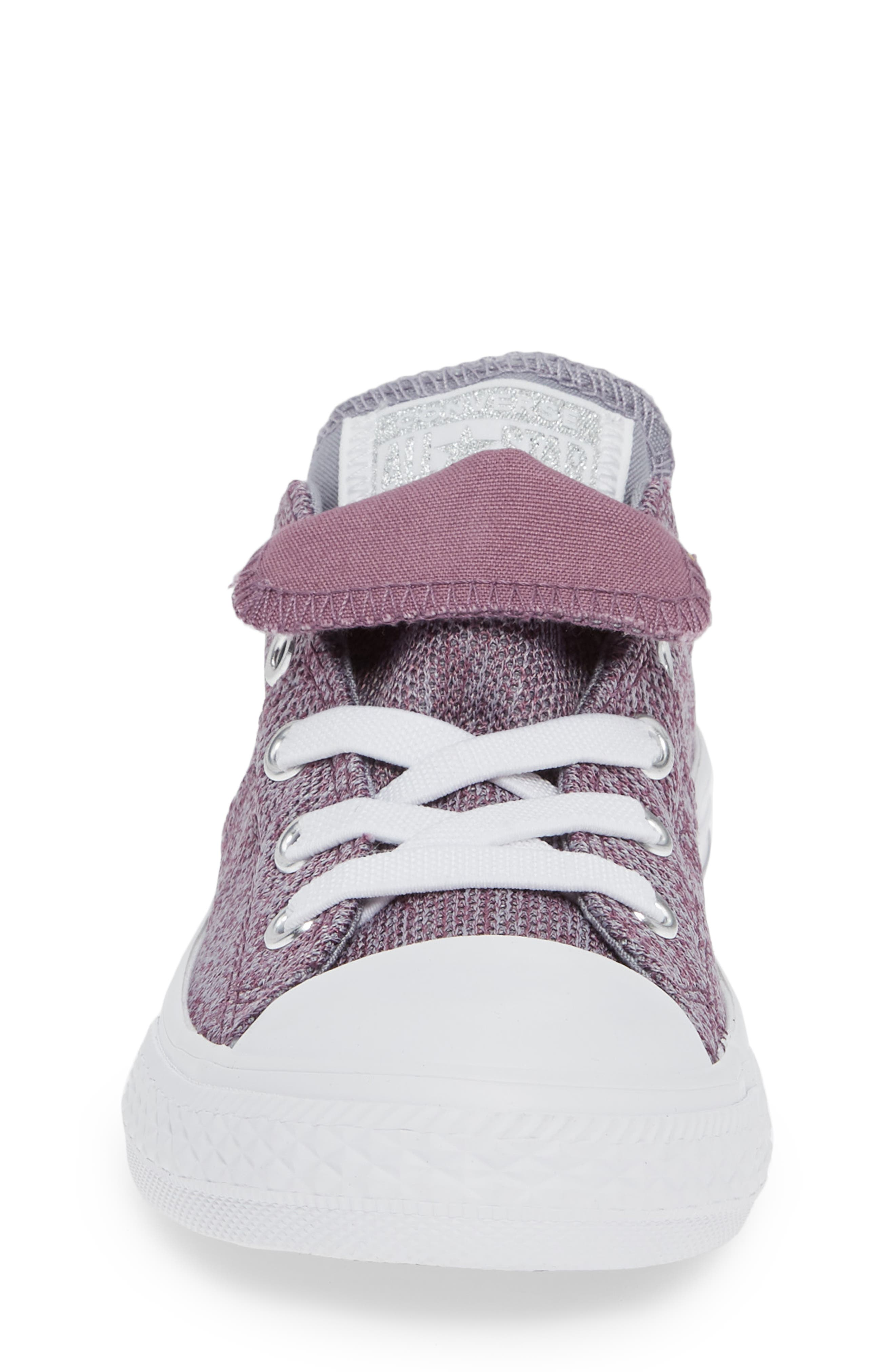 Chuck Taylor<sup>®</sup> All Star<sup>®</sup> Maddie Double Tongue Sneaker,                             Alternate thumbnail 4, color,                             VIOLET DUST