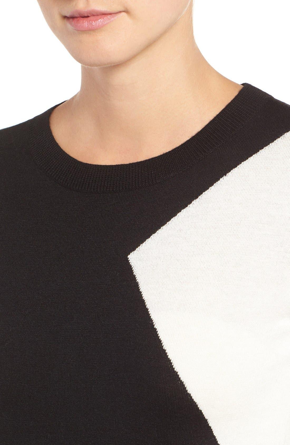 Cotton Blend Pullover,                             Alternate thumbnail 130, color,